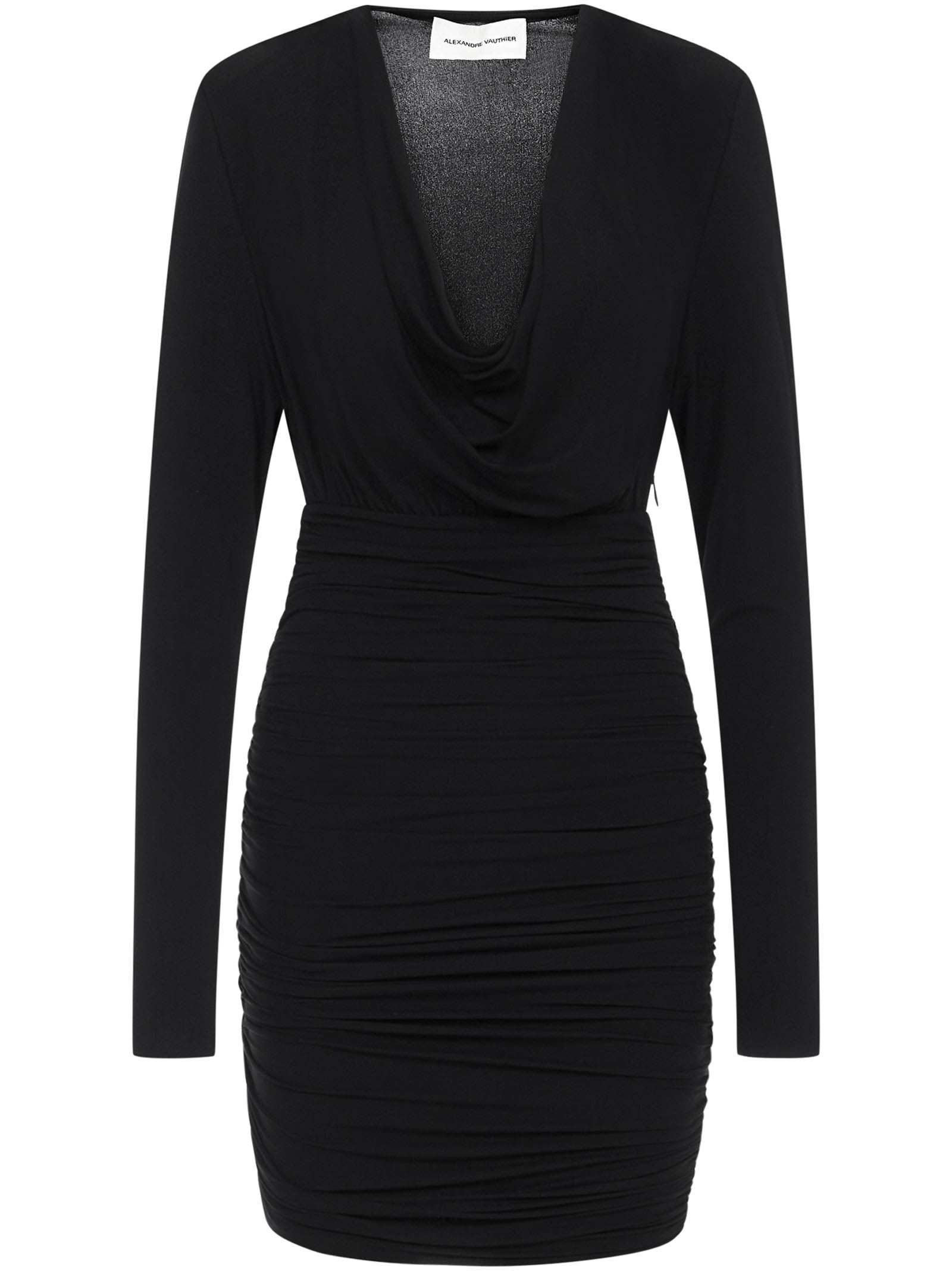 Alexandre Vauthier Mini Dress In Black
