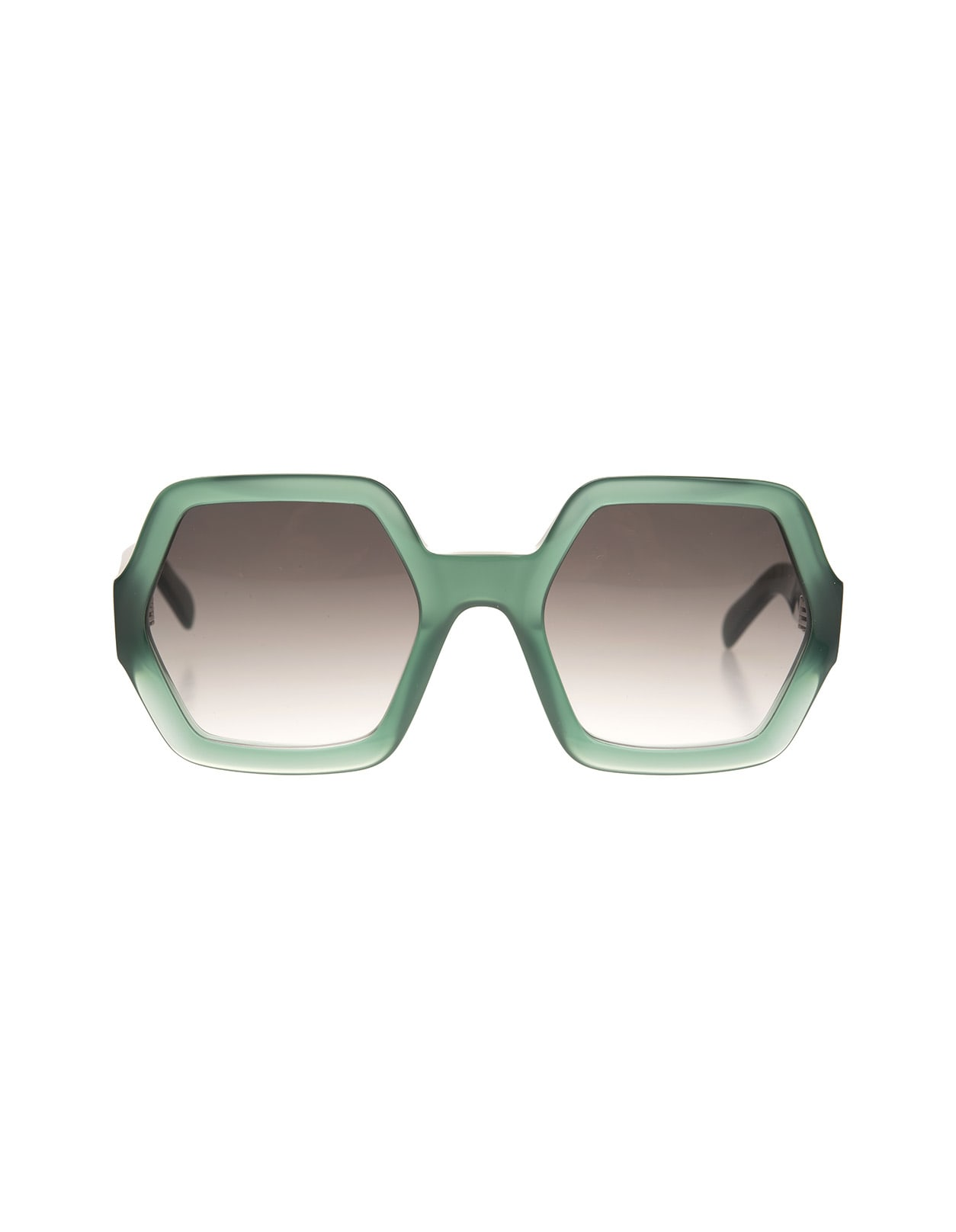 Green Oversize Sunglasses