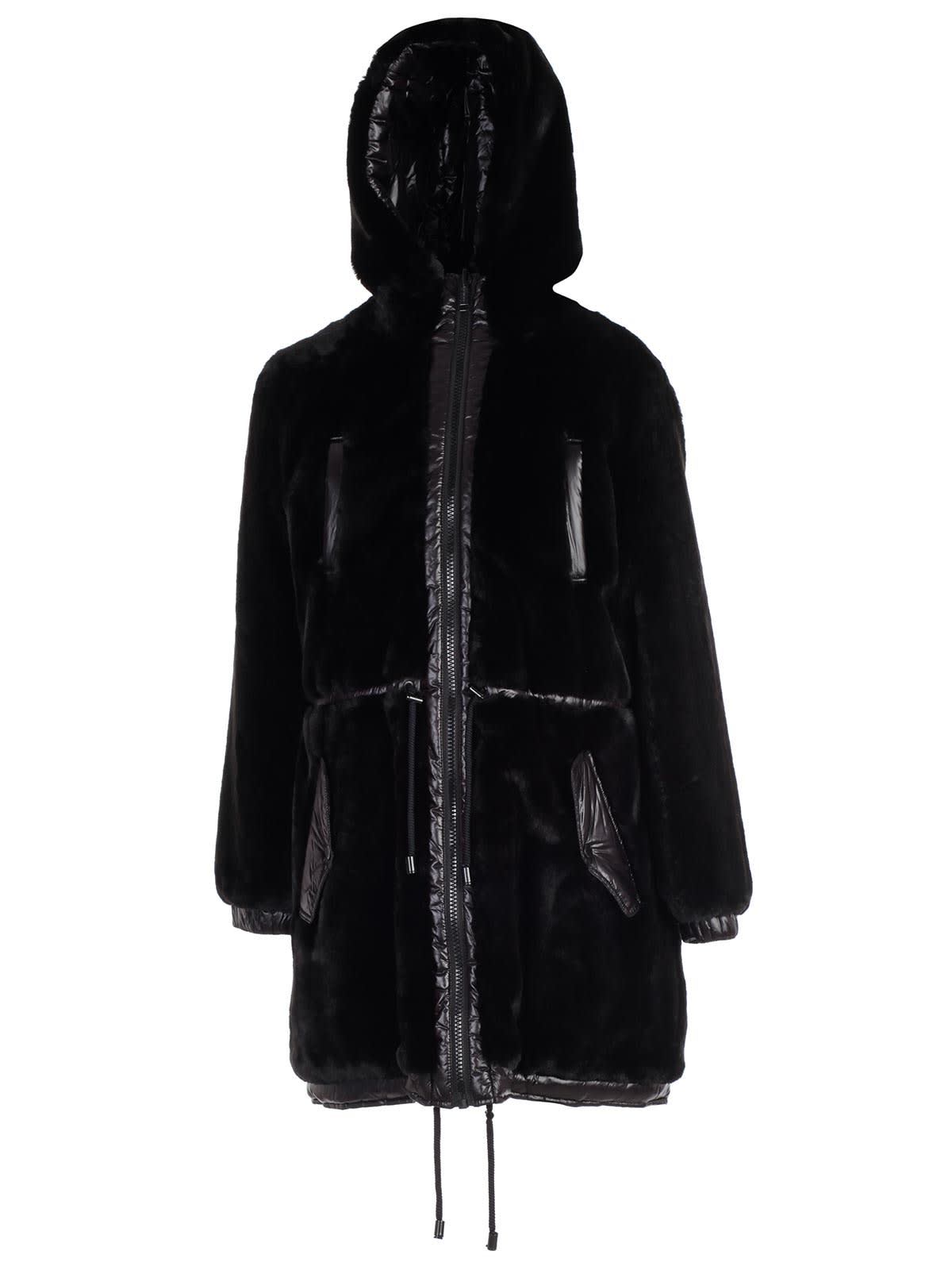 MICHAEL Michael Kors Parka Reversible Faux Fur