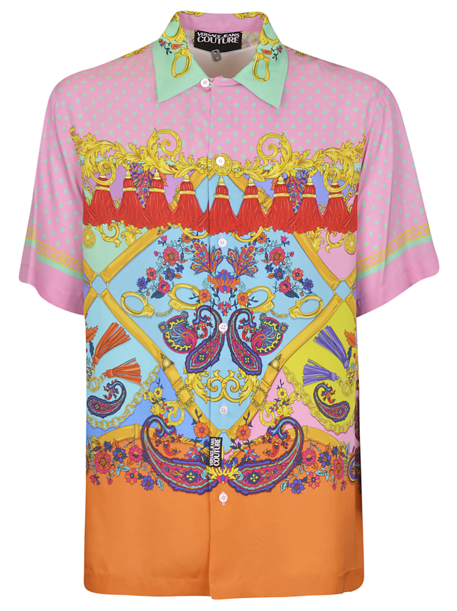 Versace Jeans Couture TWILL VI PRINT PAISLEY SHIRT