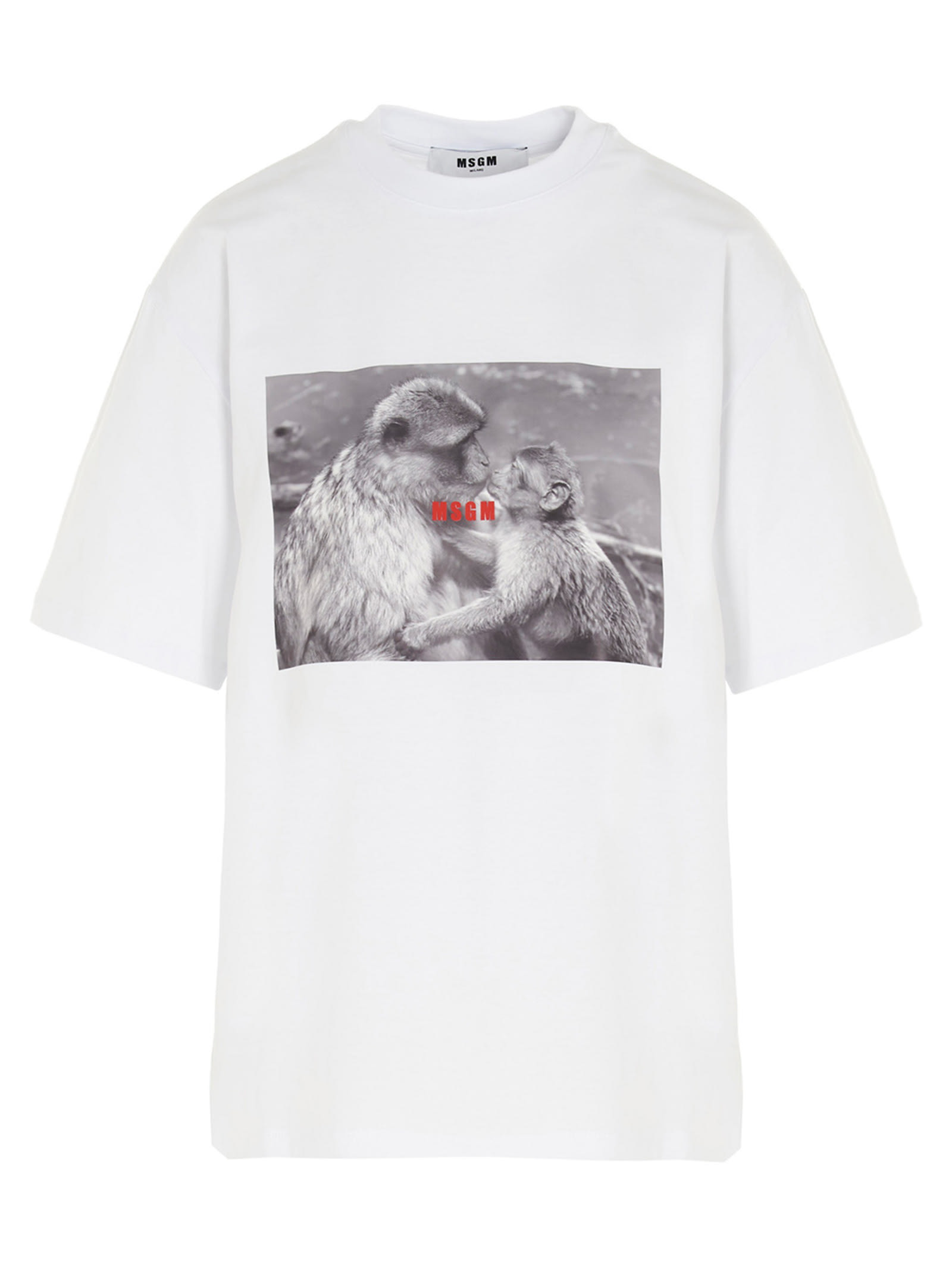 Msgm MSGM MONKEY KISS T-SHIRT