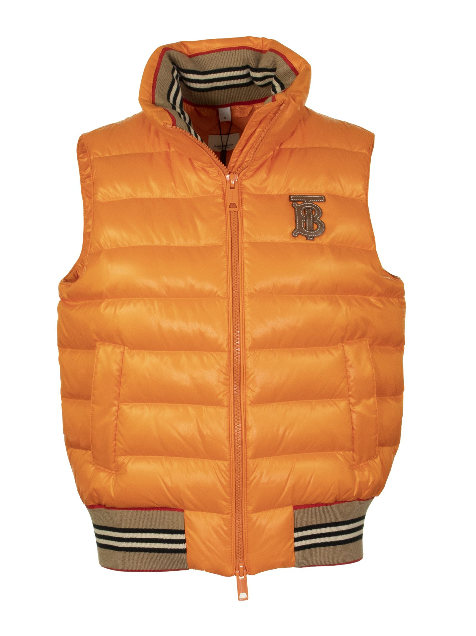 Photo of  Burberry Hessle Orange- shop Burberry jackets online sales