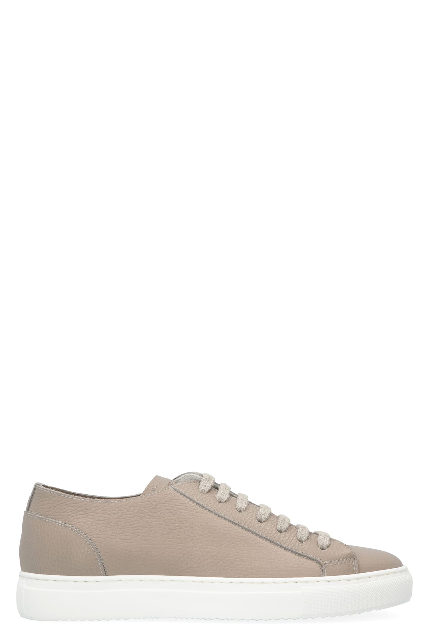 Doucal's LEATHER LOW-TOP SNEAKERS