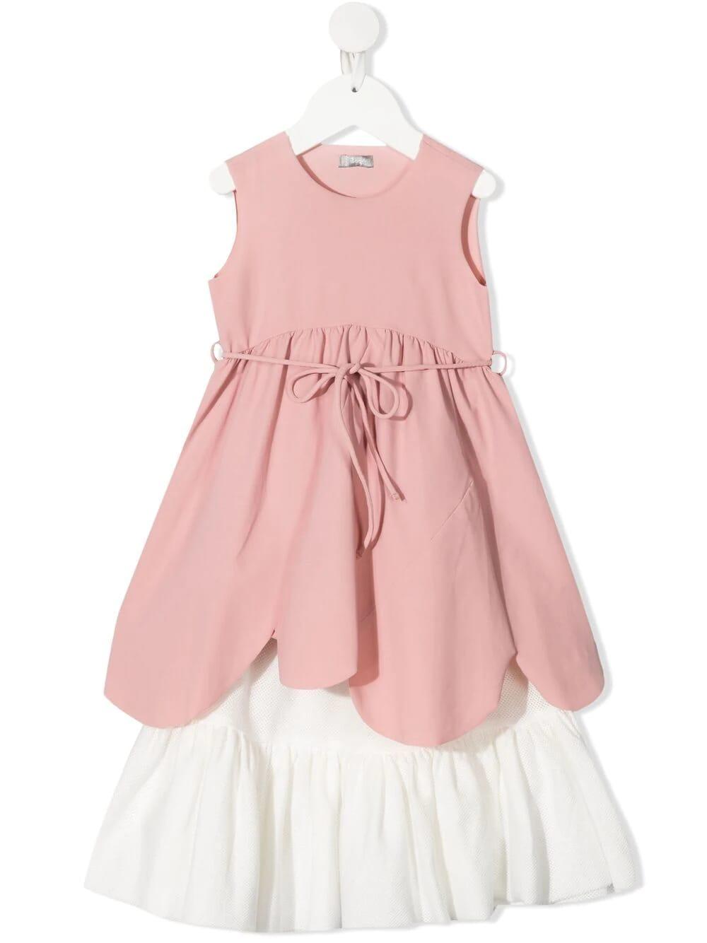 Tiered Drawstring Dress