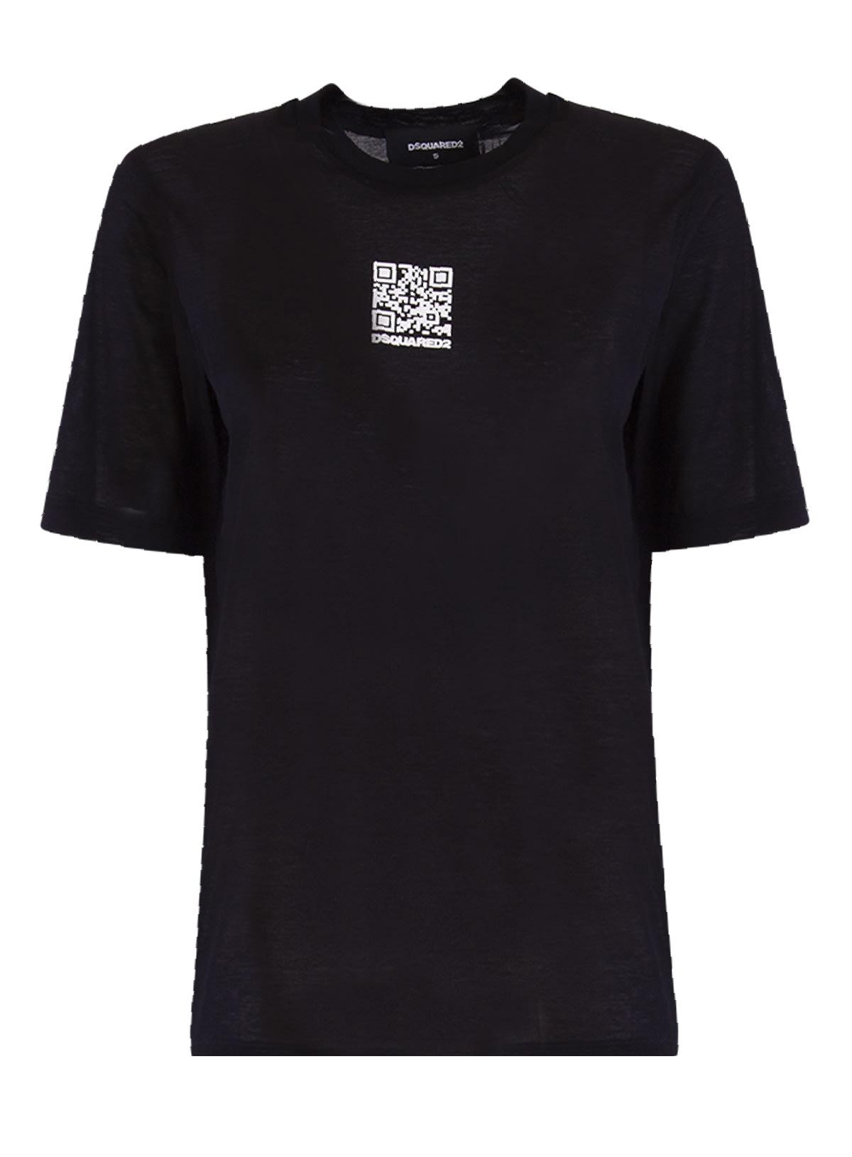 Dsquared2 T-shirts LOGO-PRINT T-SHIRT