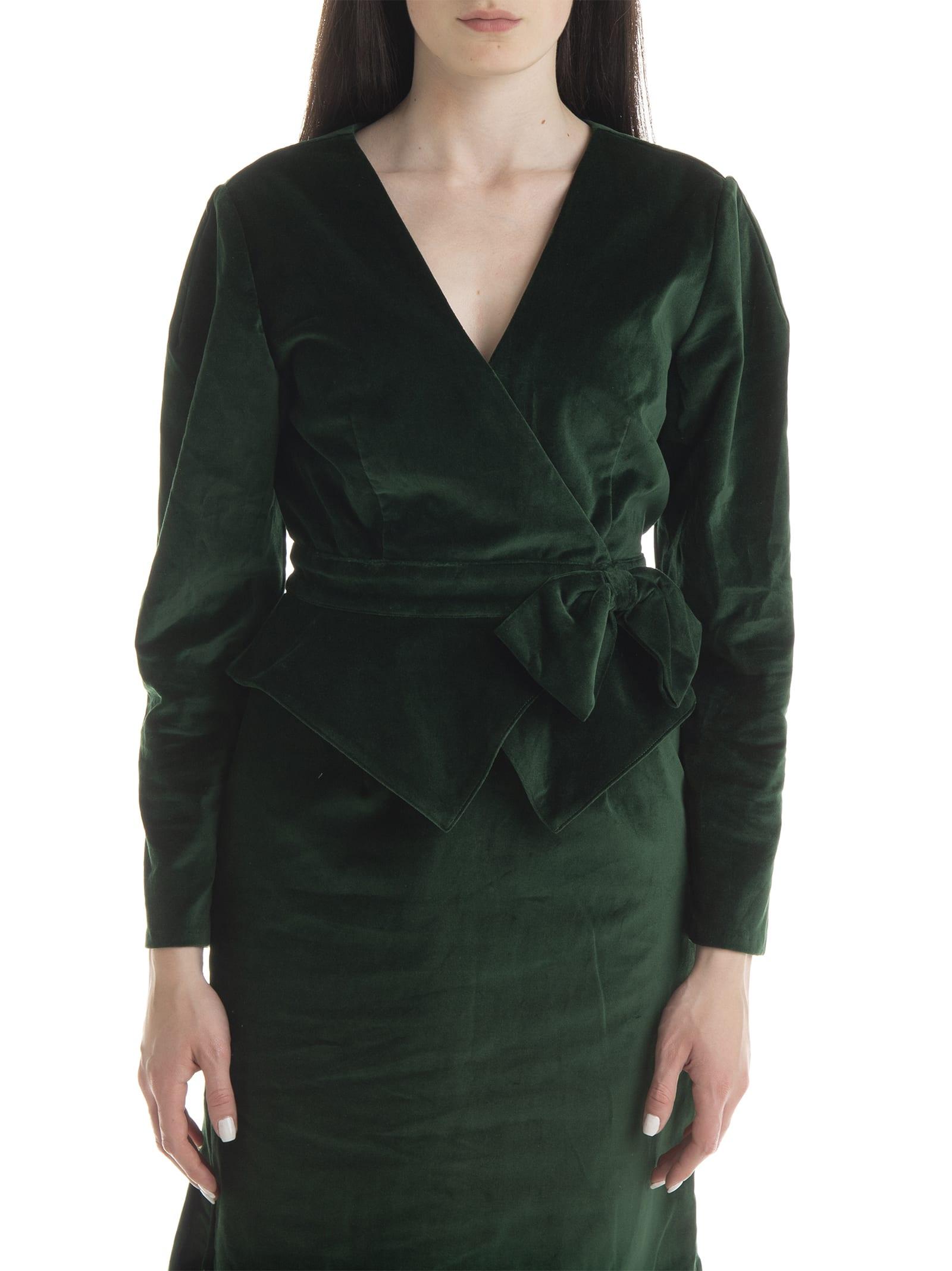 Batsheva Bow Suit Jacket