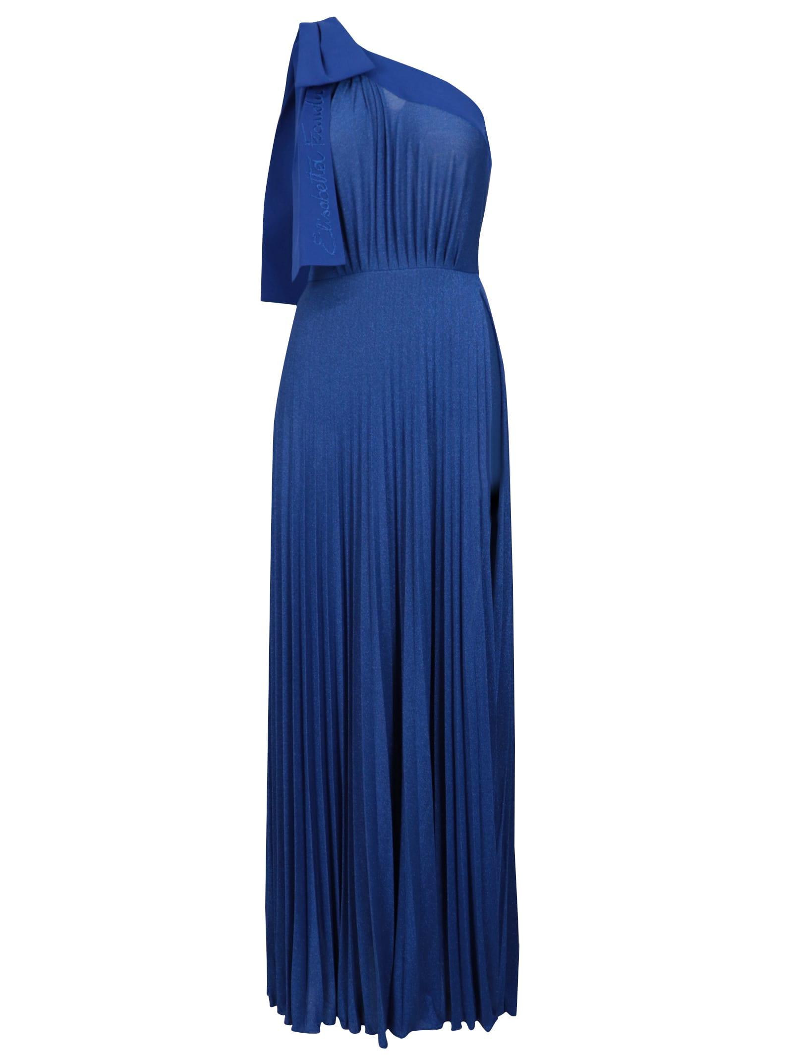 Buy Elisabetta Franchi Celyn B. Long Jersey Dress online, shop Elisabetta Franchi Celyn B. with free shipping