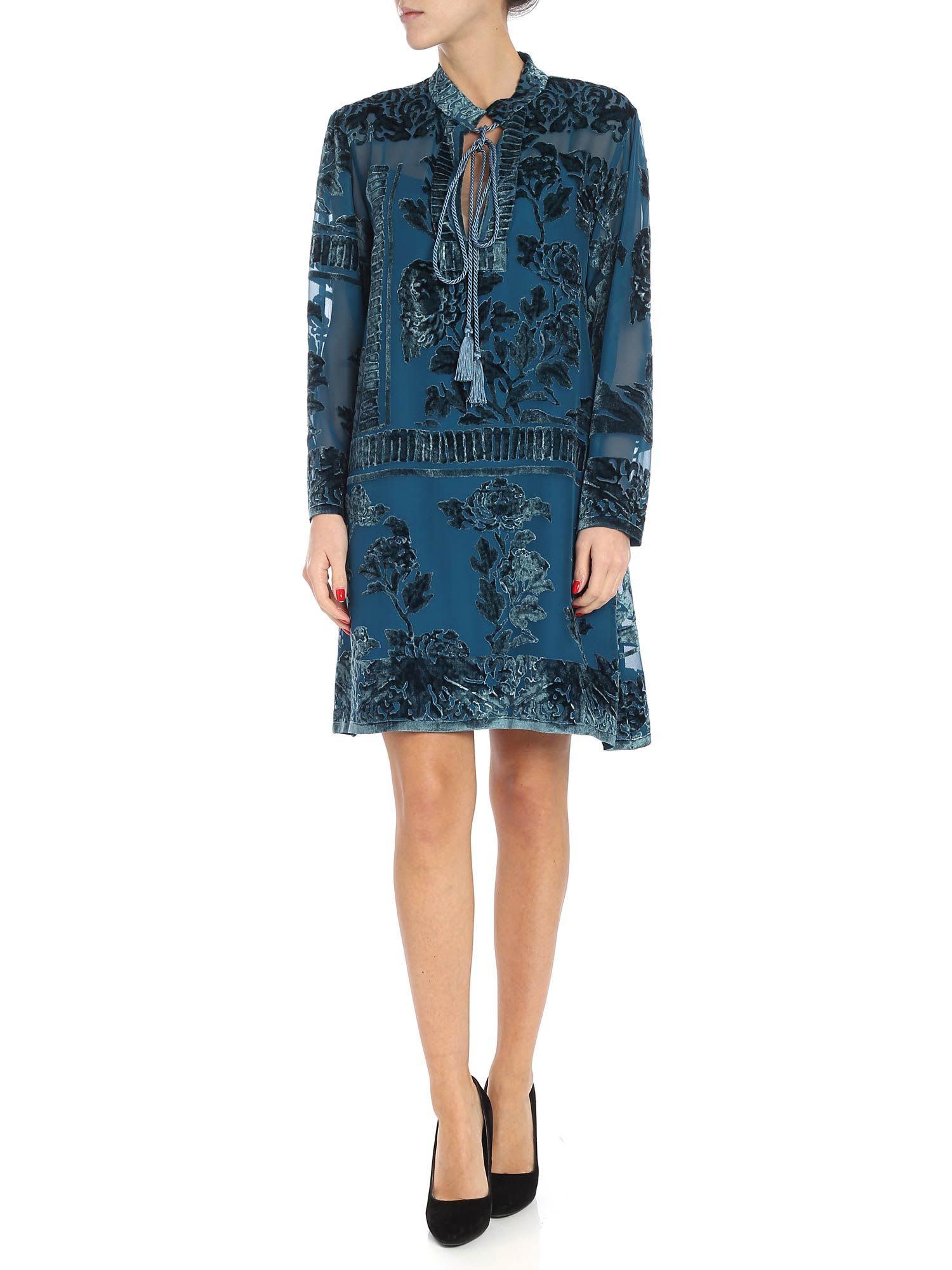Alberta Ferretti – Devoré Dress