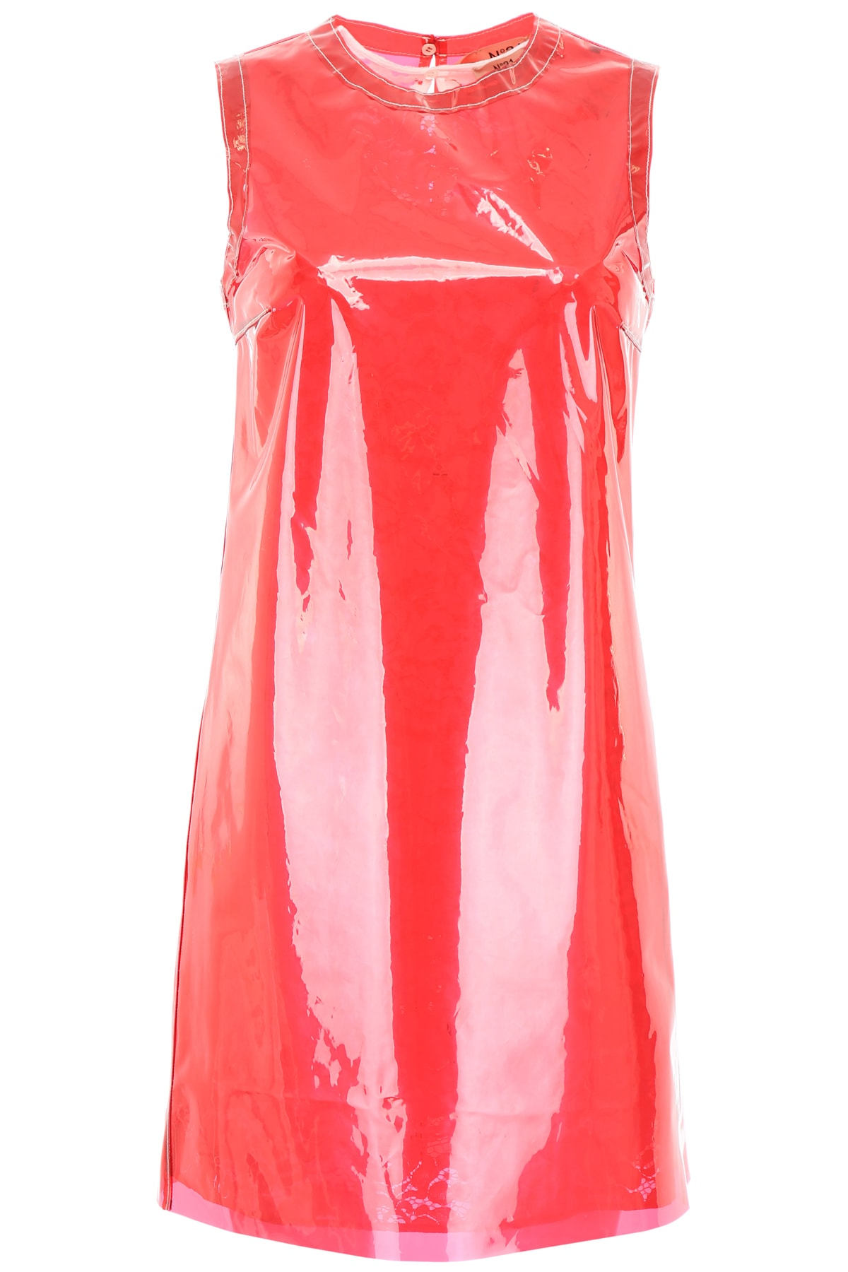 Buy N.21 Pvc And Lace Dress online, shop N.21 with free shipping