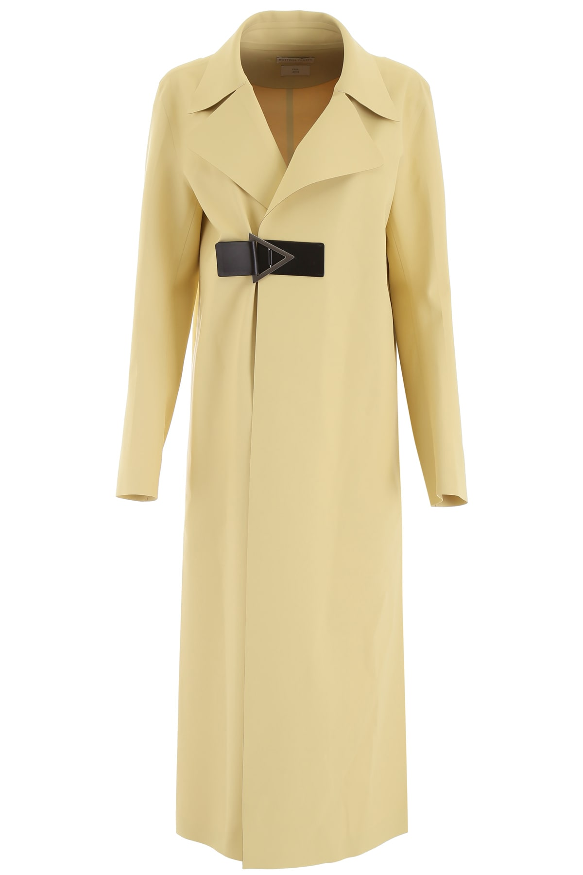 Bottega Veneta Satin Rubber Trench Coat