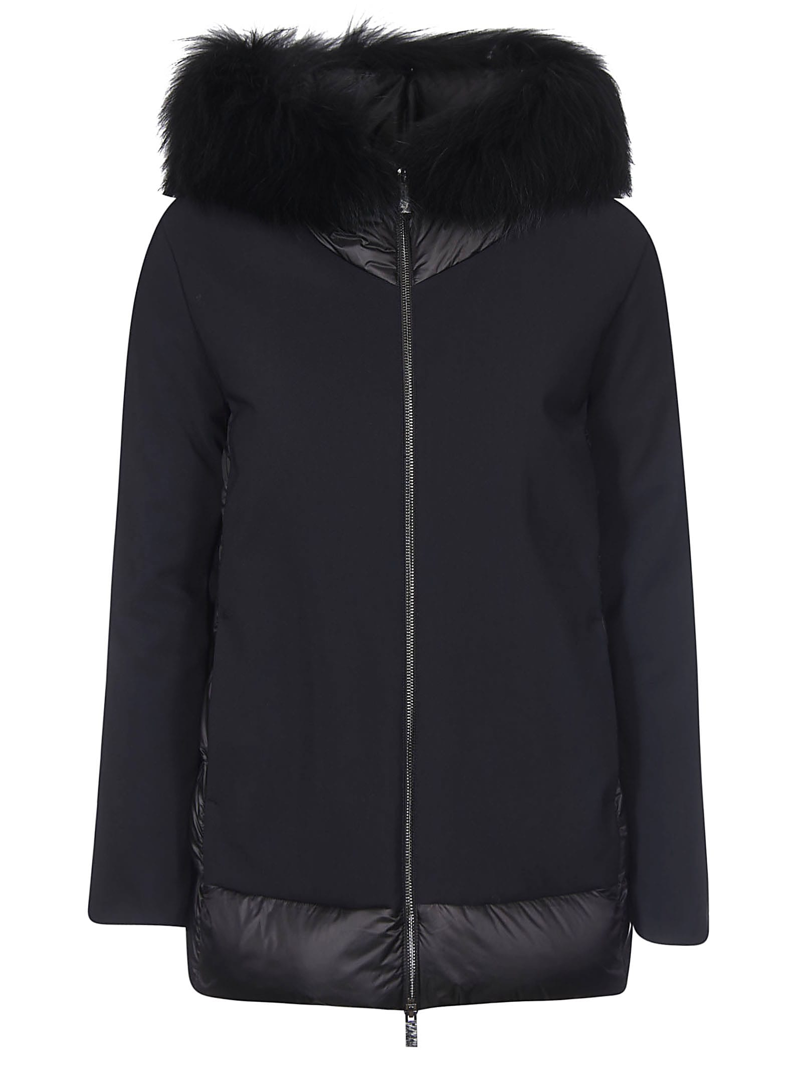 RRD - Roberto Ricci Design Back Padded Detail Furred Hood Jacket