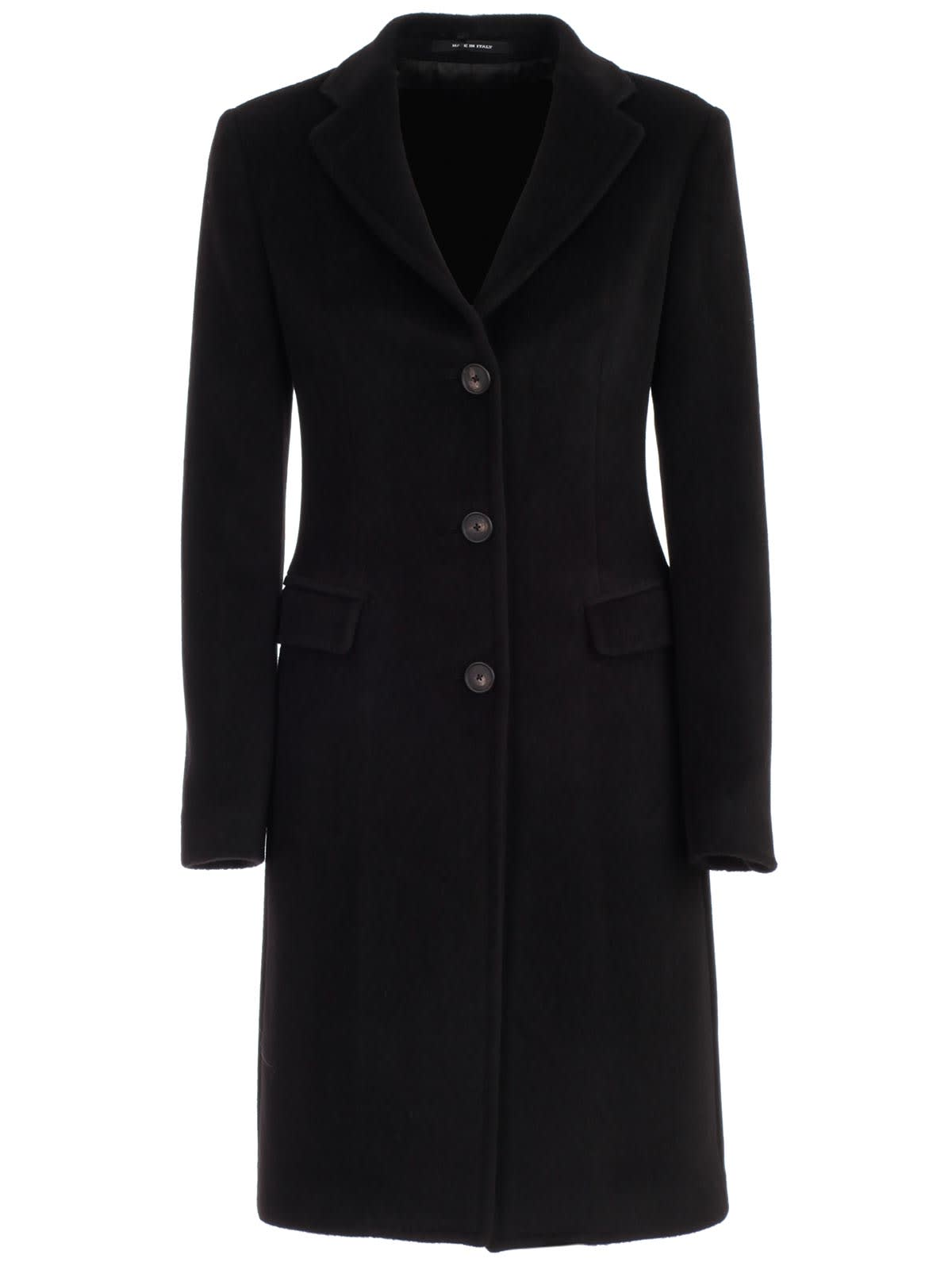 Tagliatore Coat Single Breasted W/slit