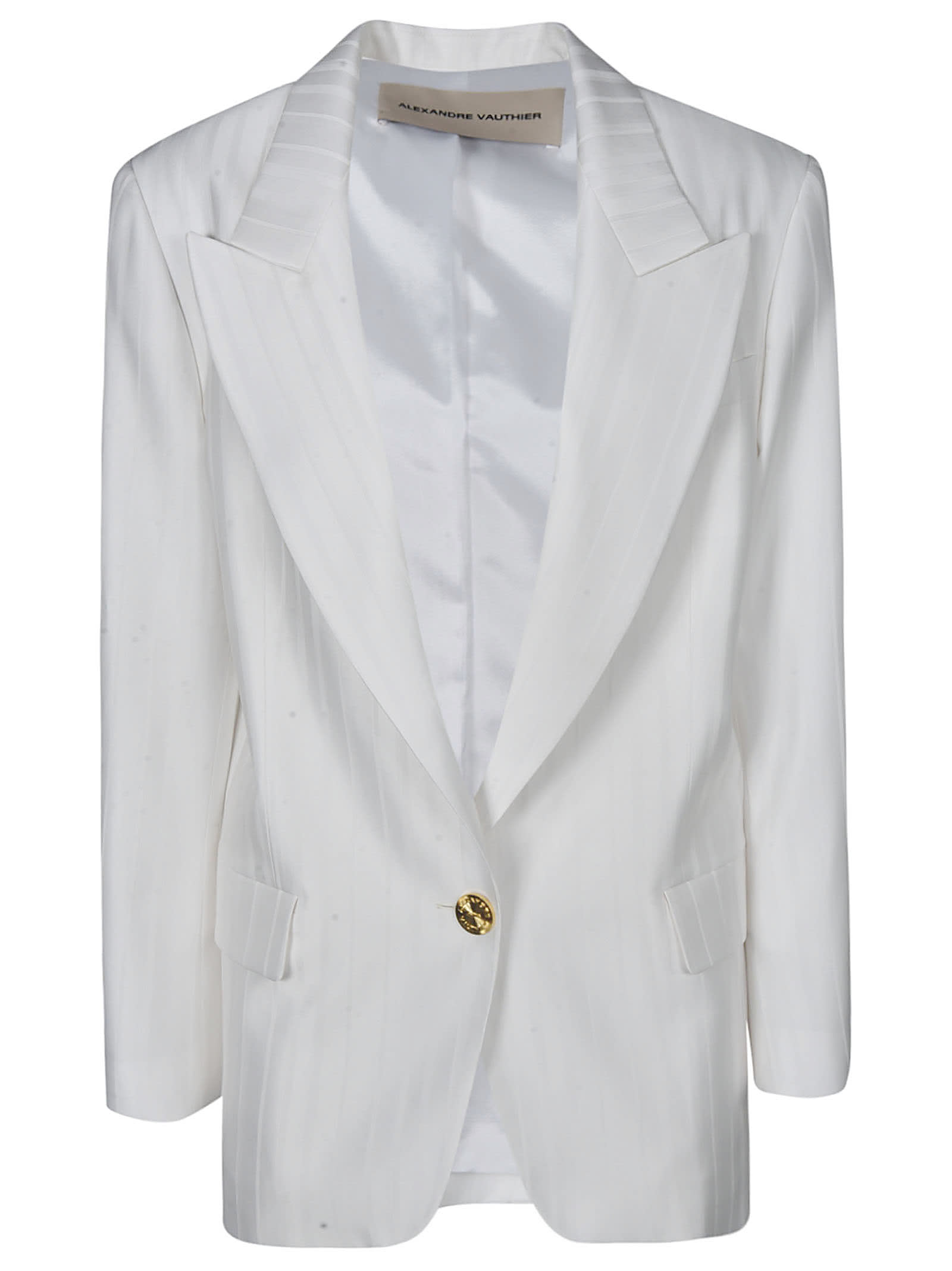 Alexandre Vauthier SINGLE-BUTTONED BLAZER