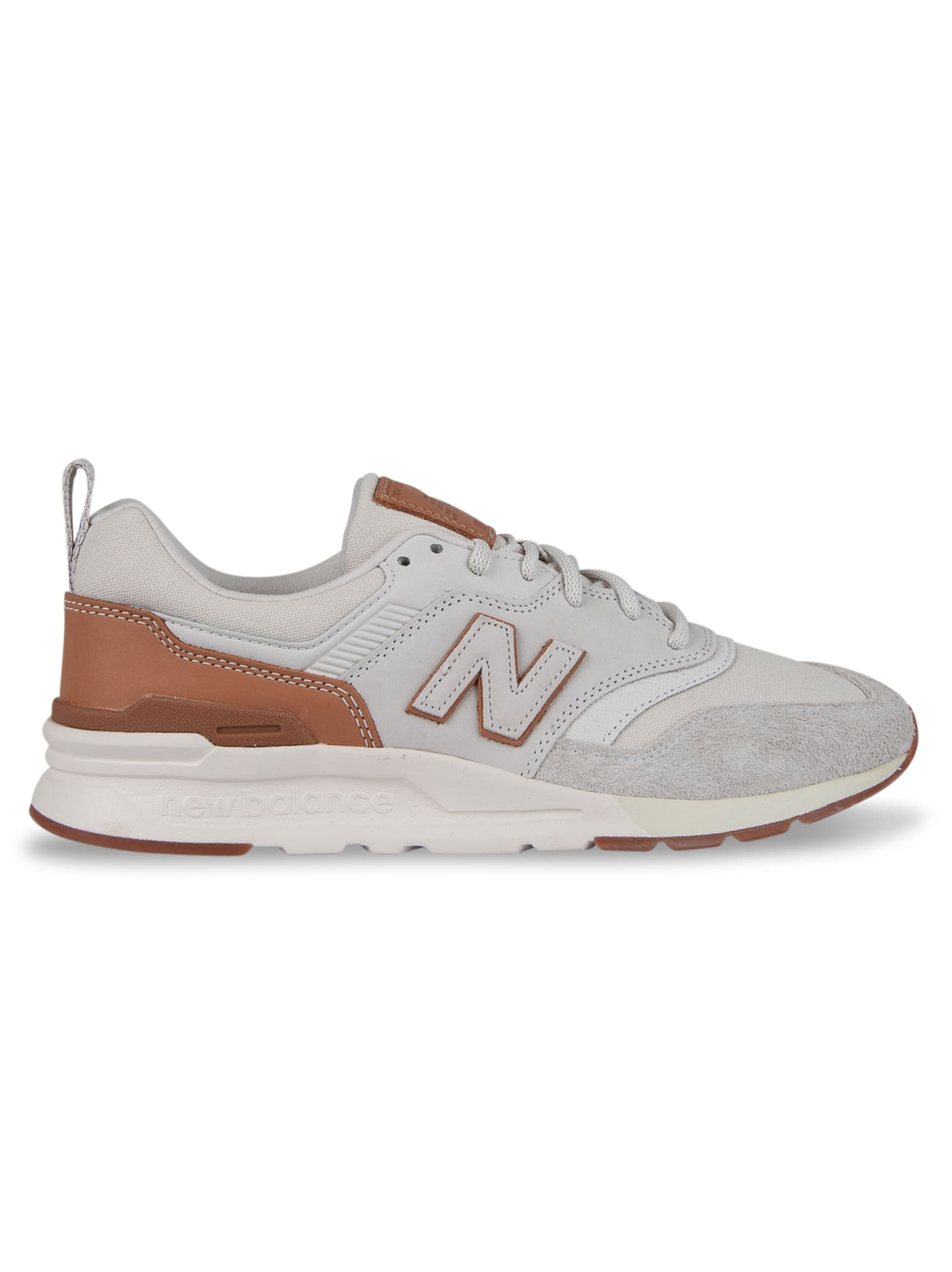 997h Lux 10 Year Leather - White/brown