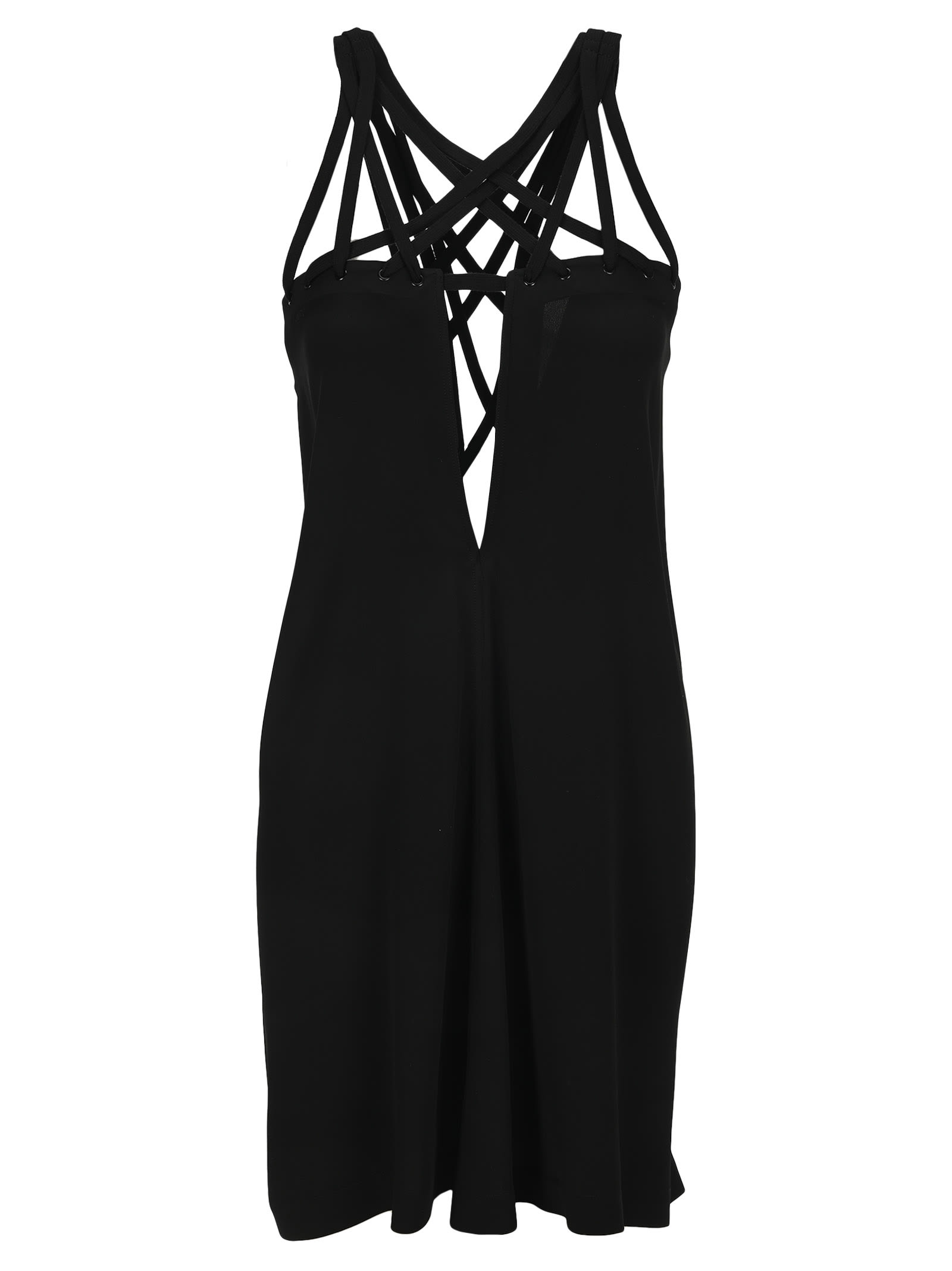 Buy Rick Owens Megalace Mini Slip Dress online, shop Rick Owens with free shipping