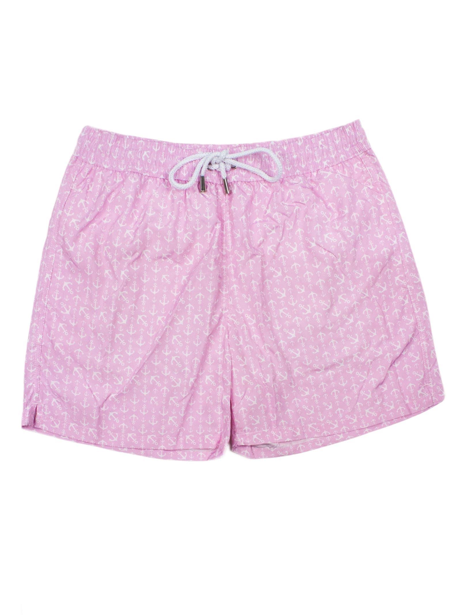 Pink Swim Trunks