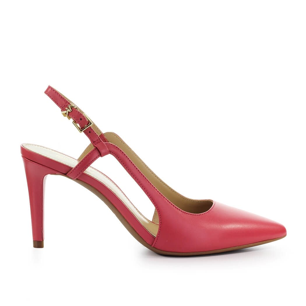 Buy Michael Kors Vanessa Coral Pink Slingback Pump online, shop Michael Kors shoes with free shipping