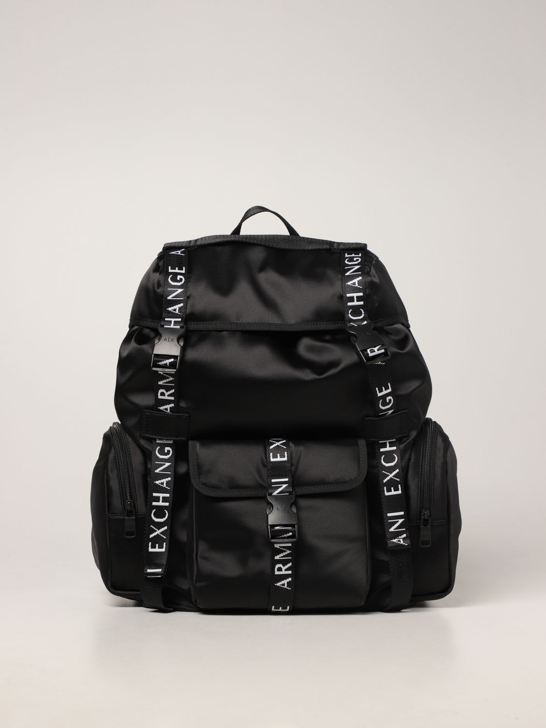 Armani Exchange Backpack Armani Exchange Backpack In Technical Fabric