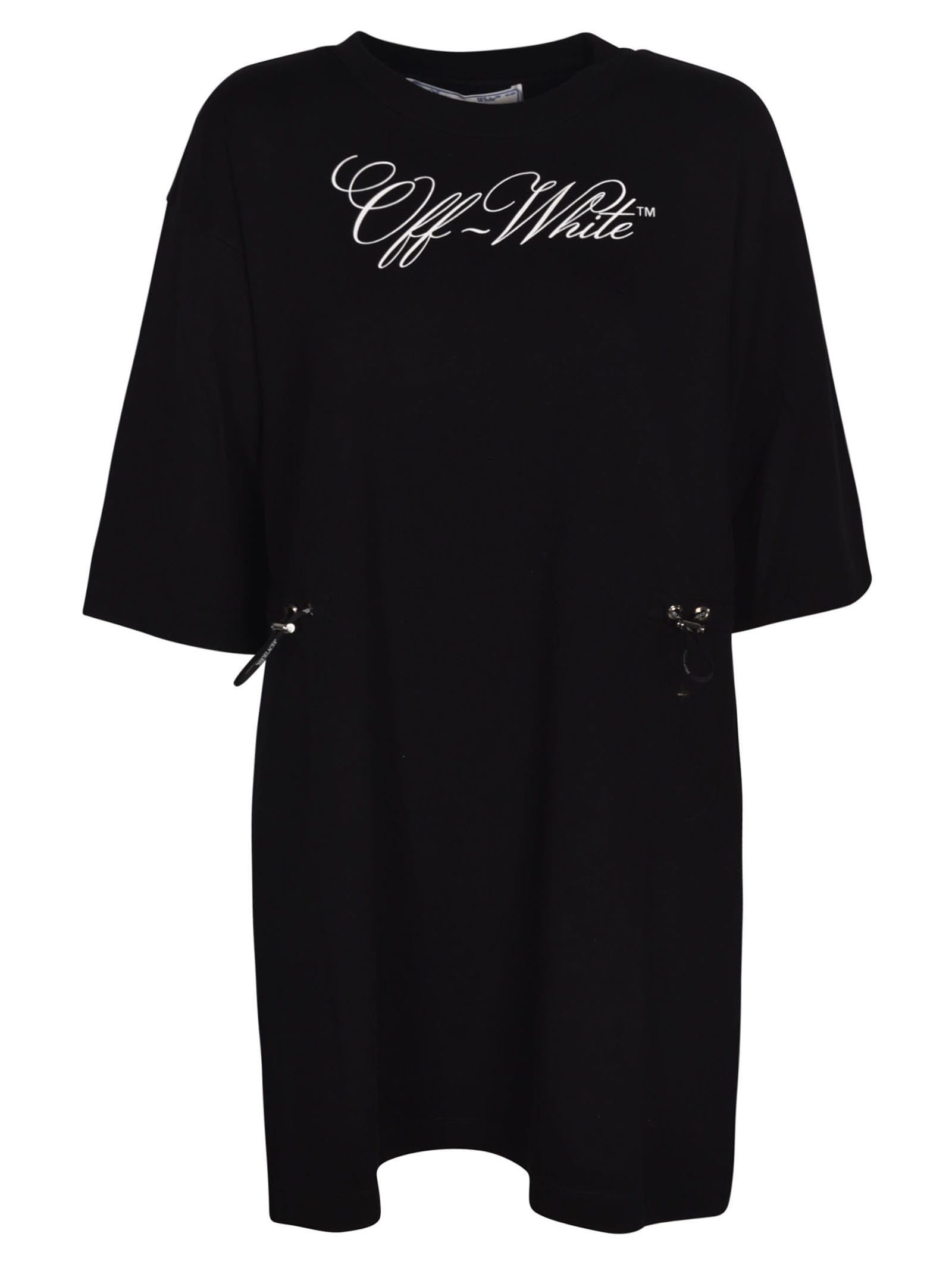 Buy Off-White Coulisse Logo Dress online, shop Off-White with free shipping