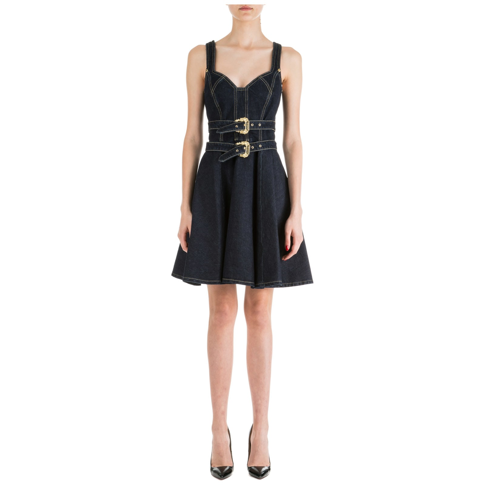 Versace Jeans Couture Knee Length Dress Sleeveless