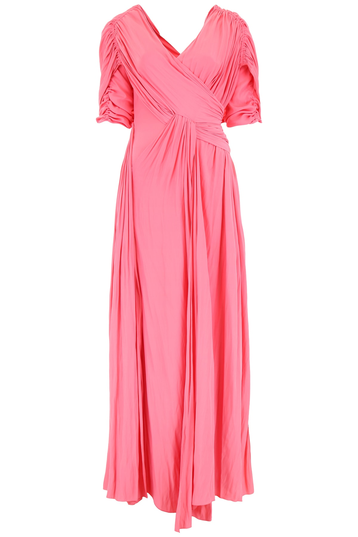 Buy Lanvin Long Silk Dress online, shop Lanvin with free shipping