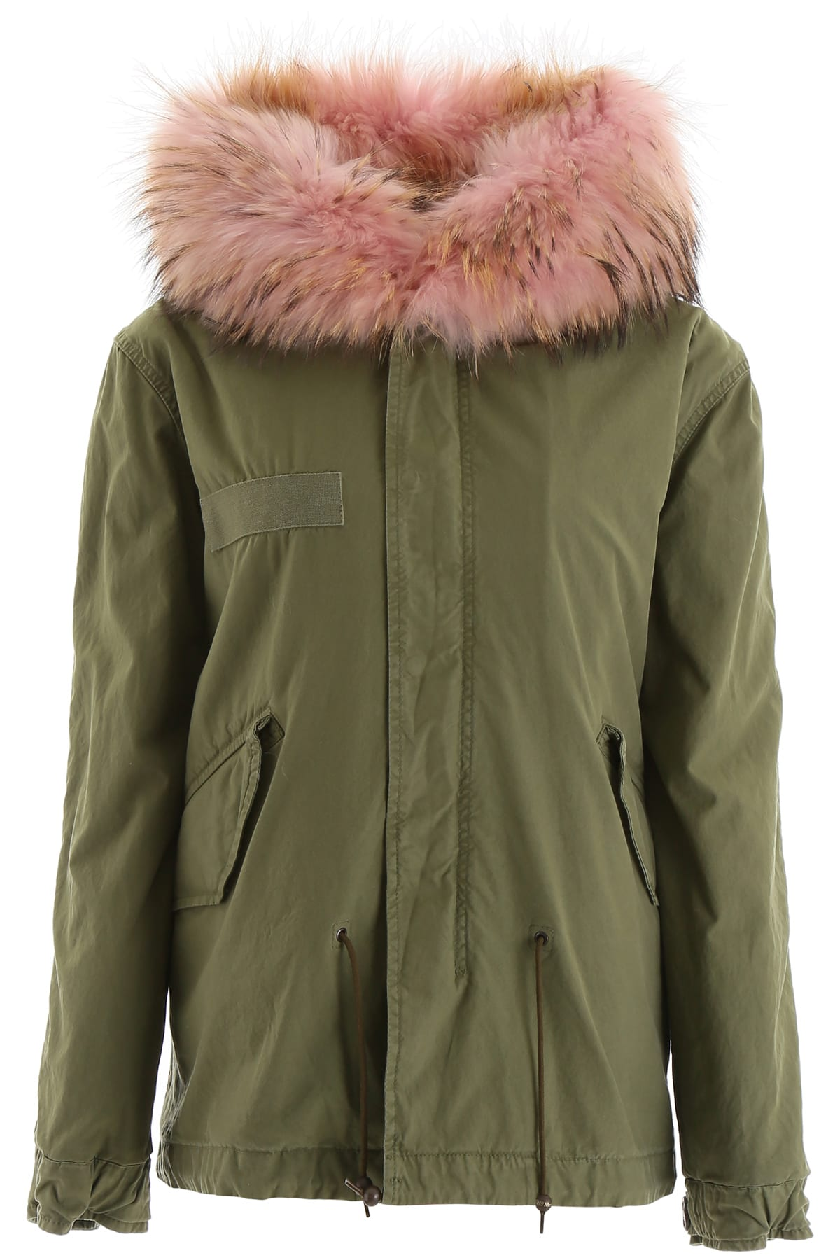 Photo of  Mr & Mrs Italy Mini Parka With Fur- shop Mr & Mrs Italy jackets online sales