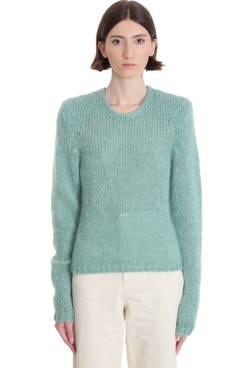 Isabel Marant Erin Knitwear In Green Wool
