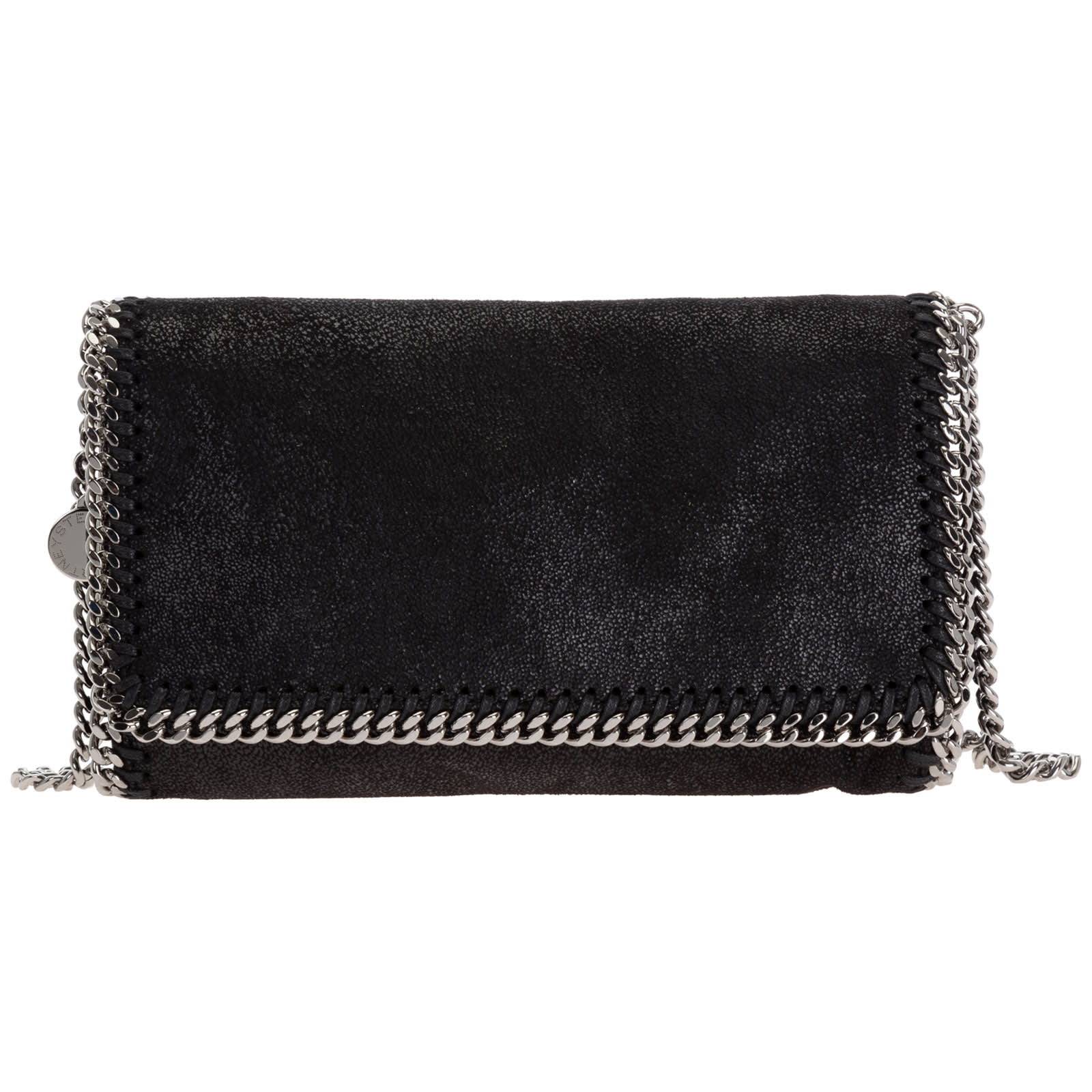 Stella Mccartney Falabella Crossbody Bags In Nero