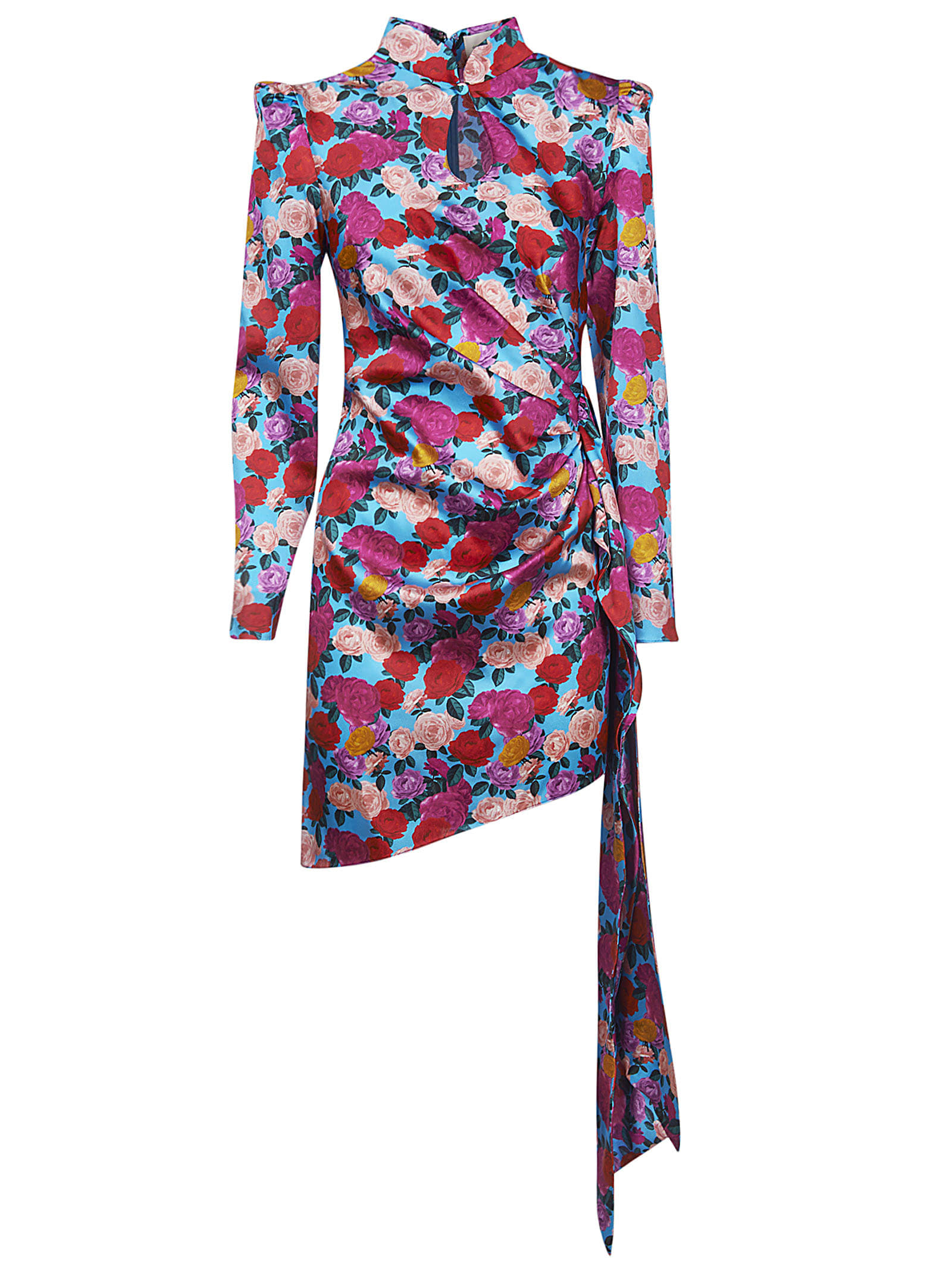 Buy Giuseppe di Morabito Floral Print Gathered Dress online, shop Giuseppe di Morabito with free shipping