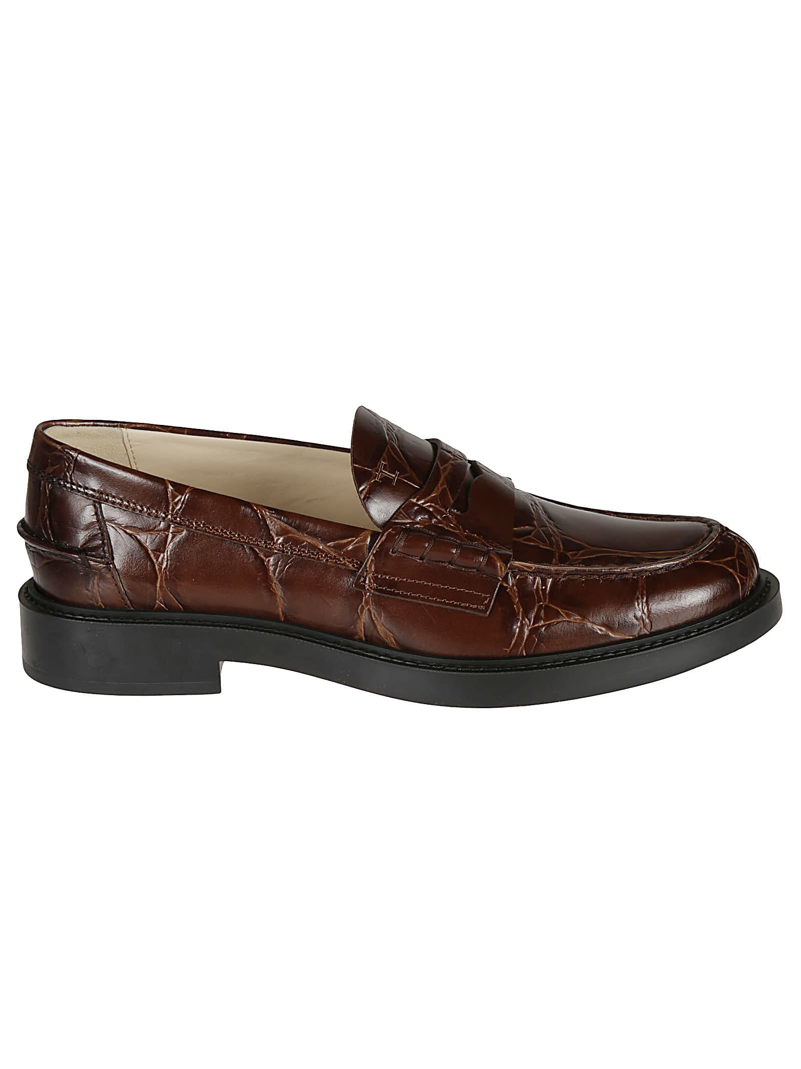 Tods Vintage Effect Loafers