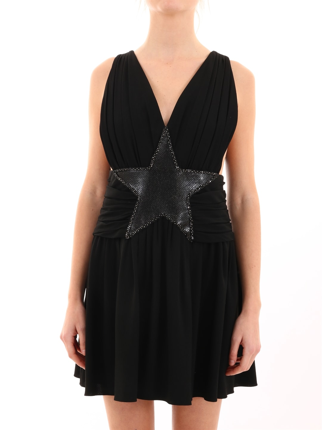 Saint Laurent Dress With Star