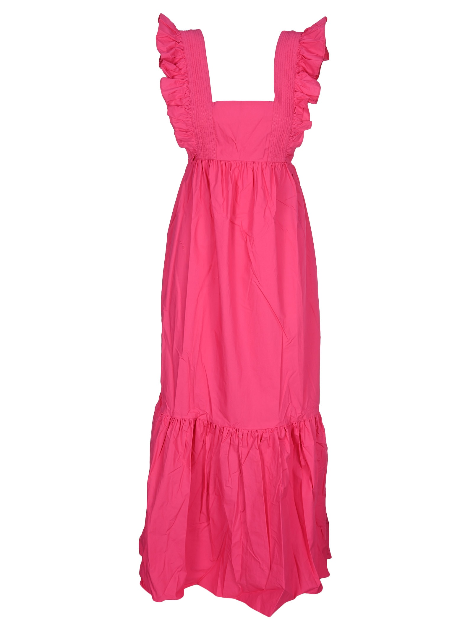 Buy Self Portrait Flared Maxi Dress online, shop self-portrait with free shipping
