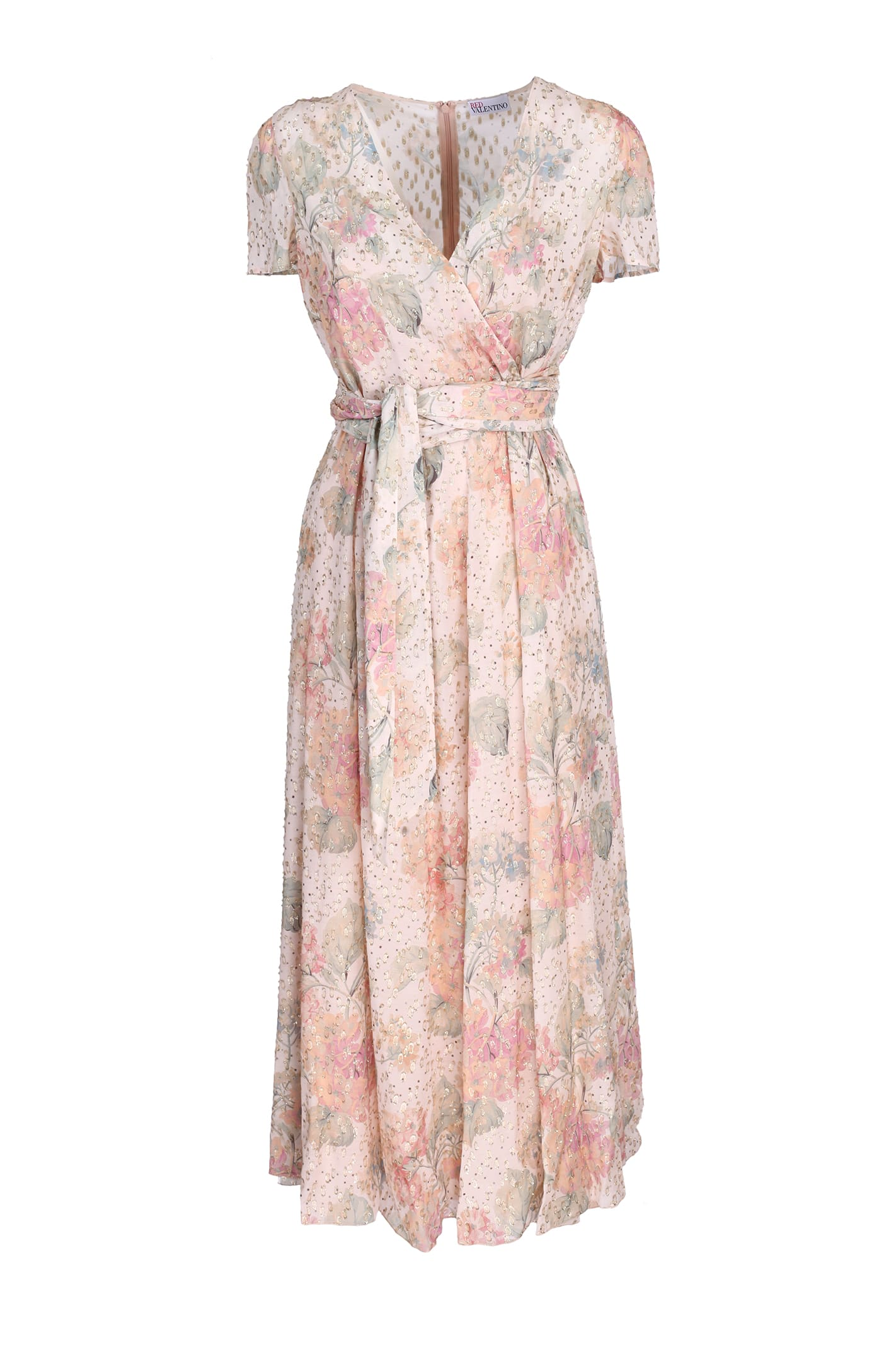 Buy Red Valentino Flower Dress online, shop RED Valentino with free shipping