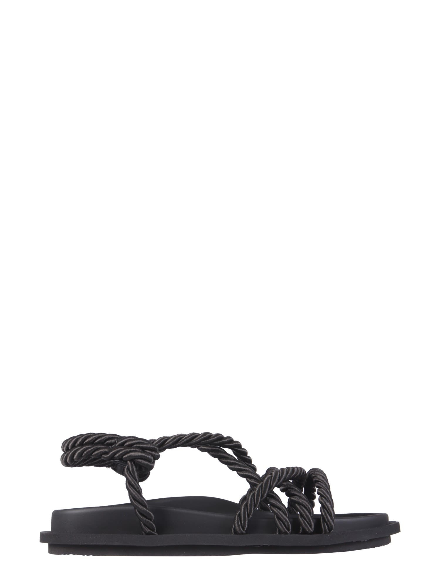 Msgm SANDALS WITH CORDS
