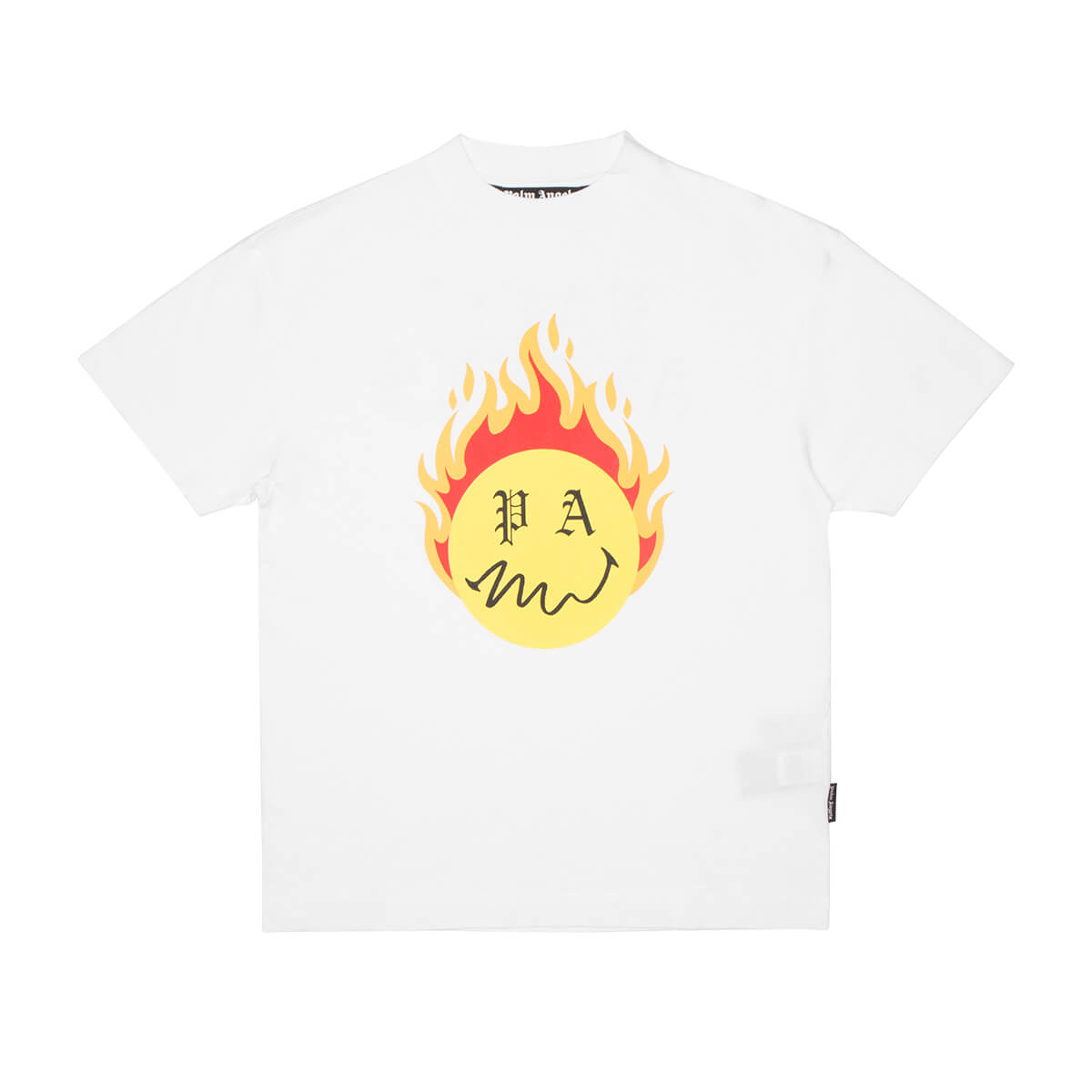 Palm Angels Cottons BURNING HEAD T-SHIRT