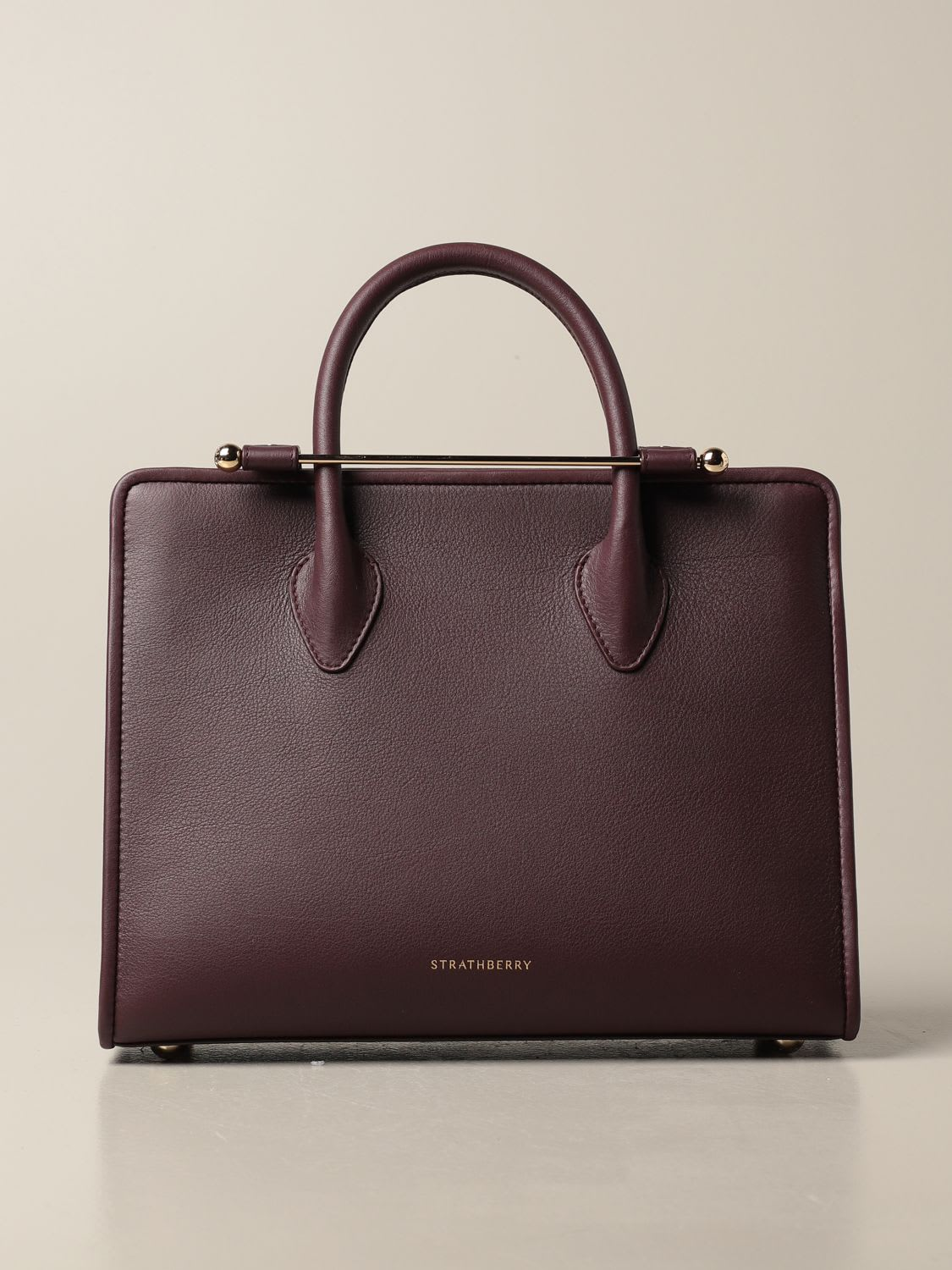 Strathberry Tote Bags Strathberry Midi Tote Bag In Leather