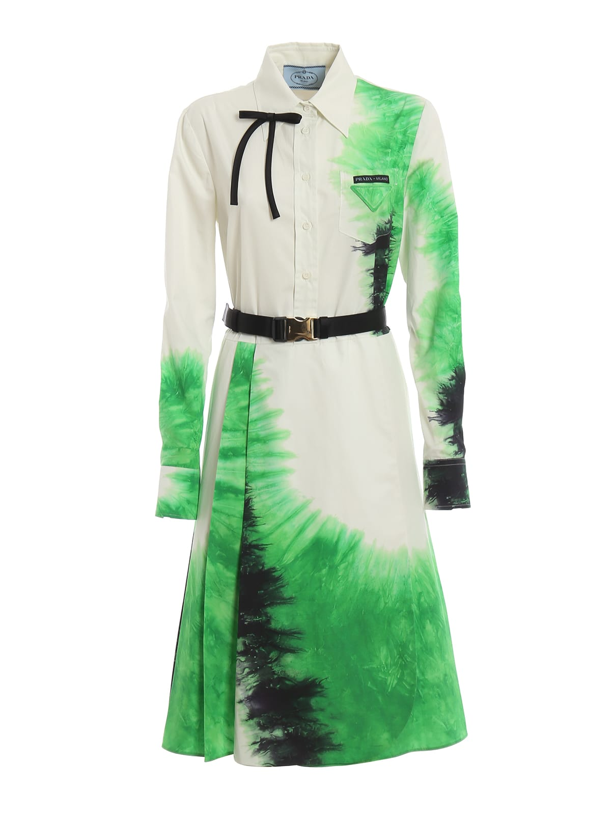 Photo of  Prada Tie-dye Dress- shop Prada  online sales
