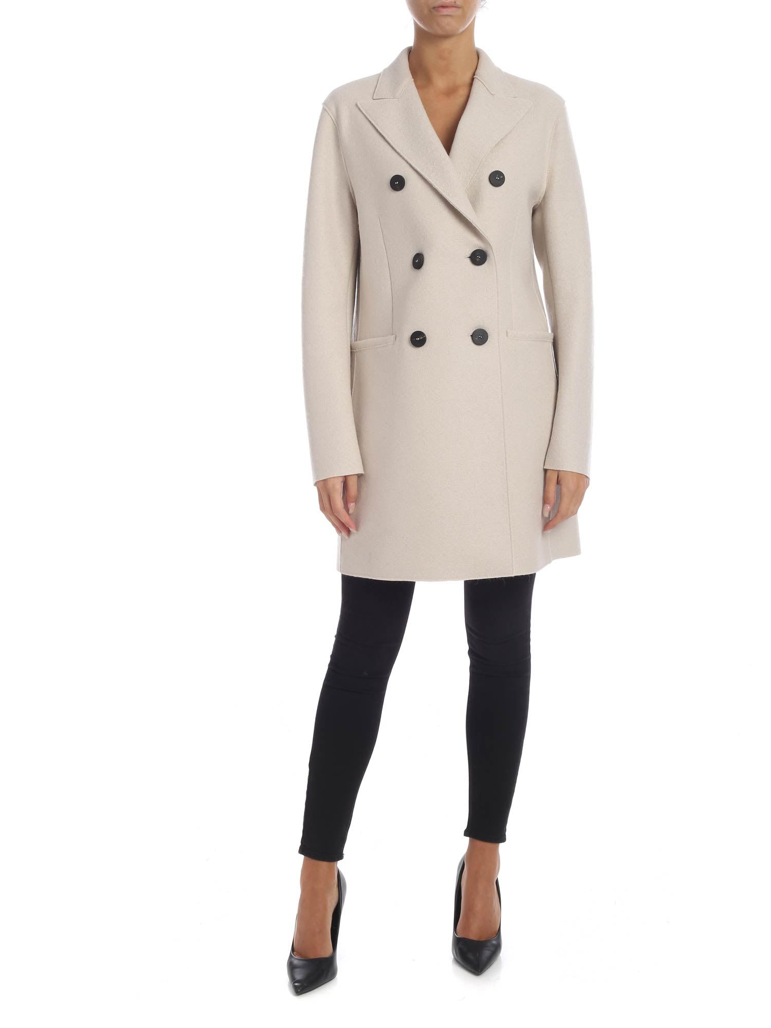 Harris Wharf London – Woolen Cloth Coat