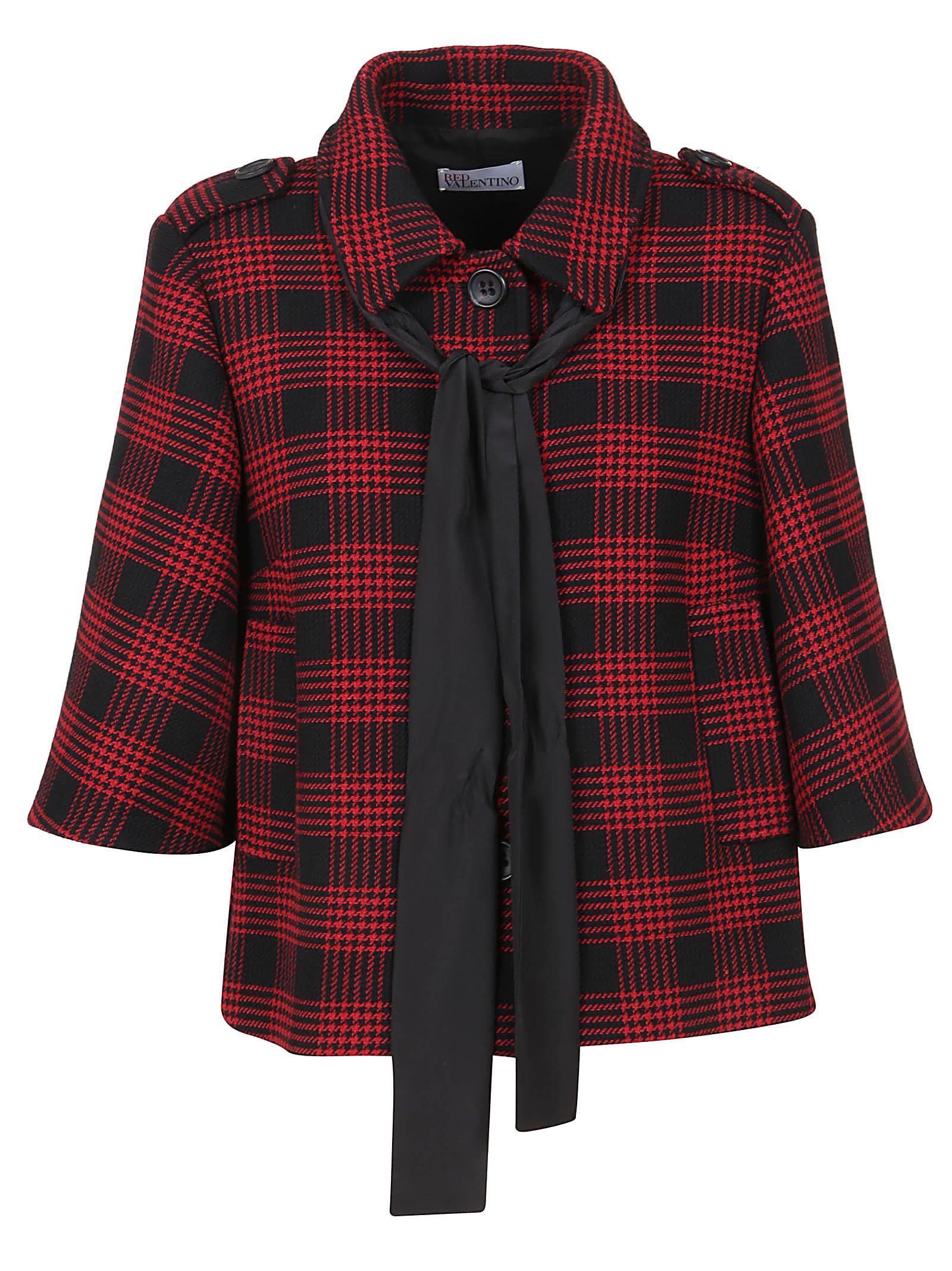 Multicolor Checked Cotton Jacket