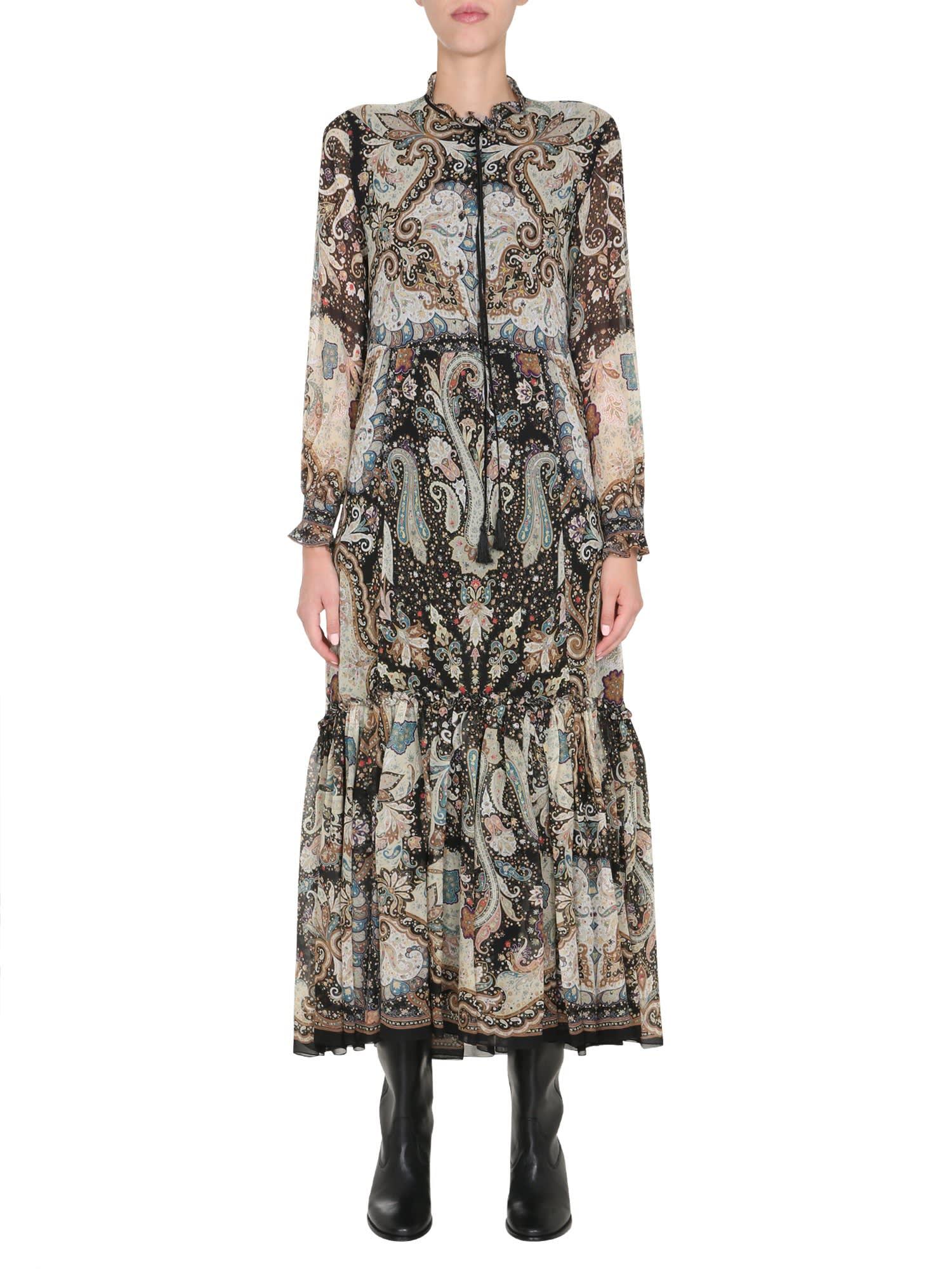 Etro Silks SILK DRESS