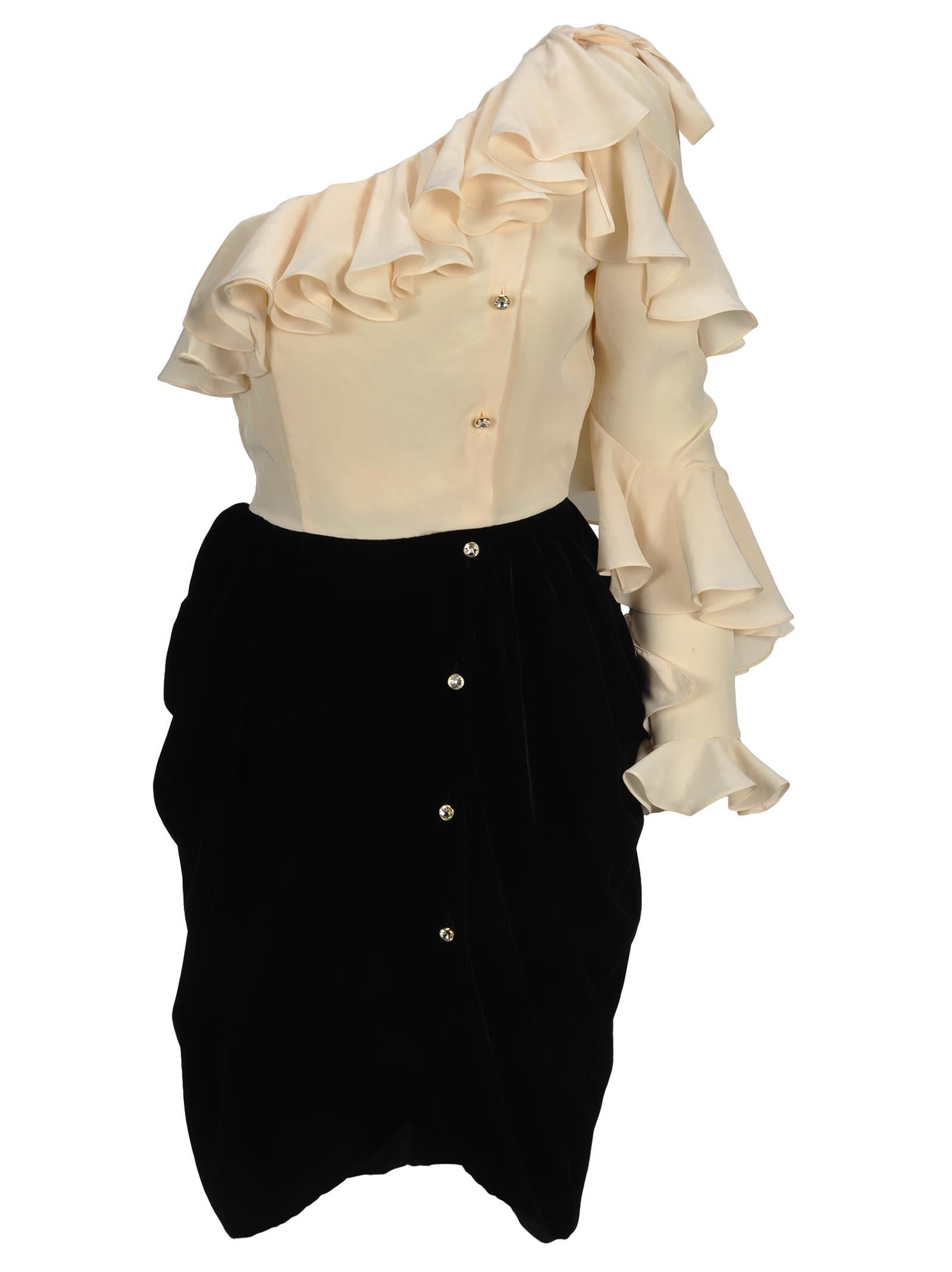 Philosophy Philosophy One-shoulder Dress