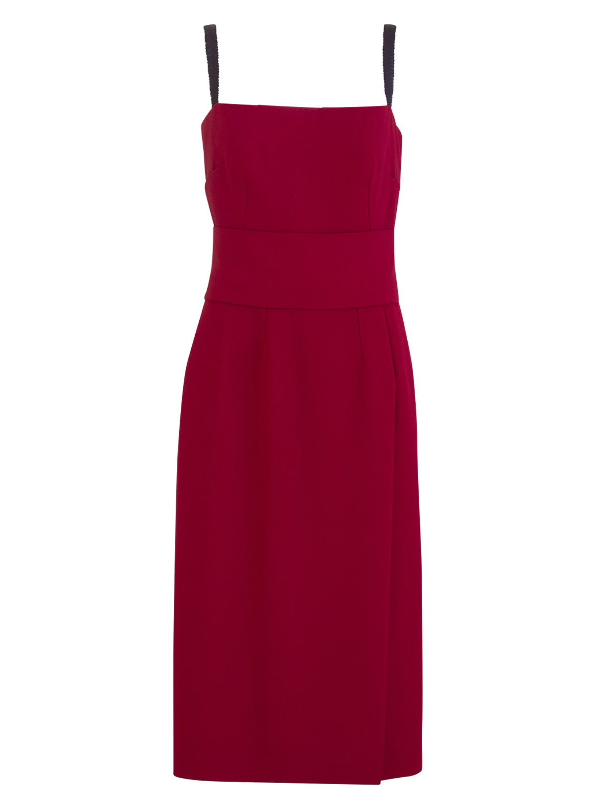 Buy Dolce & Gabbana Cady Longuette Dress online, shop Dolce & Gabbana with free shipping