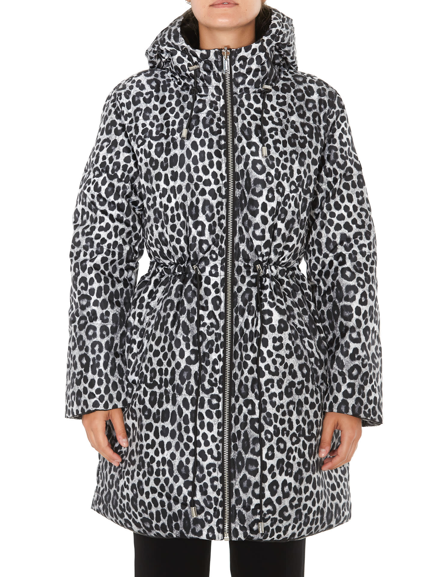 Michael Michael Kors Cheetah Print Down Jacket