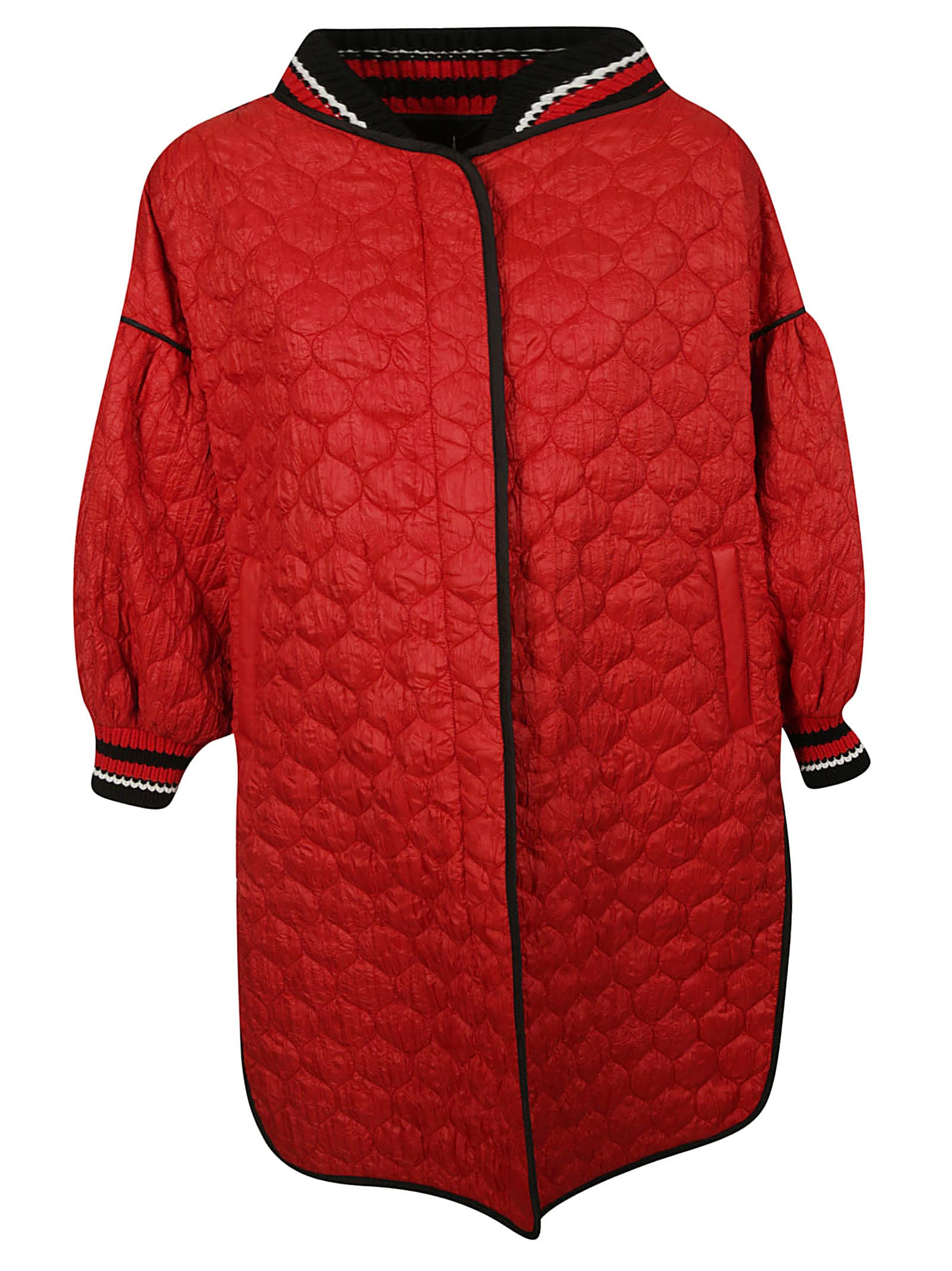 Photo of  Ermanno Scervino Oversized Down Jacket- shop Ermanno Scervino jackets online sales