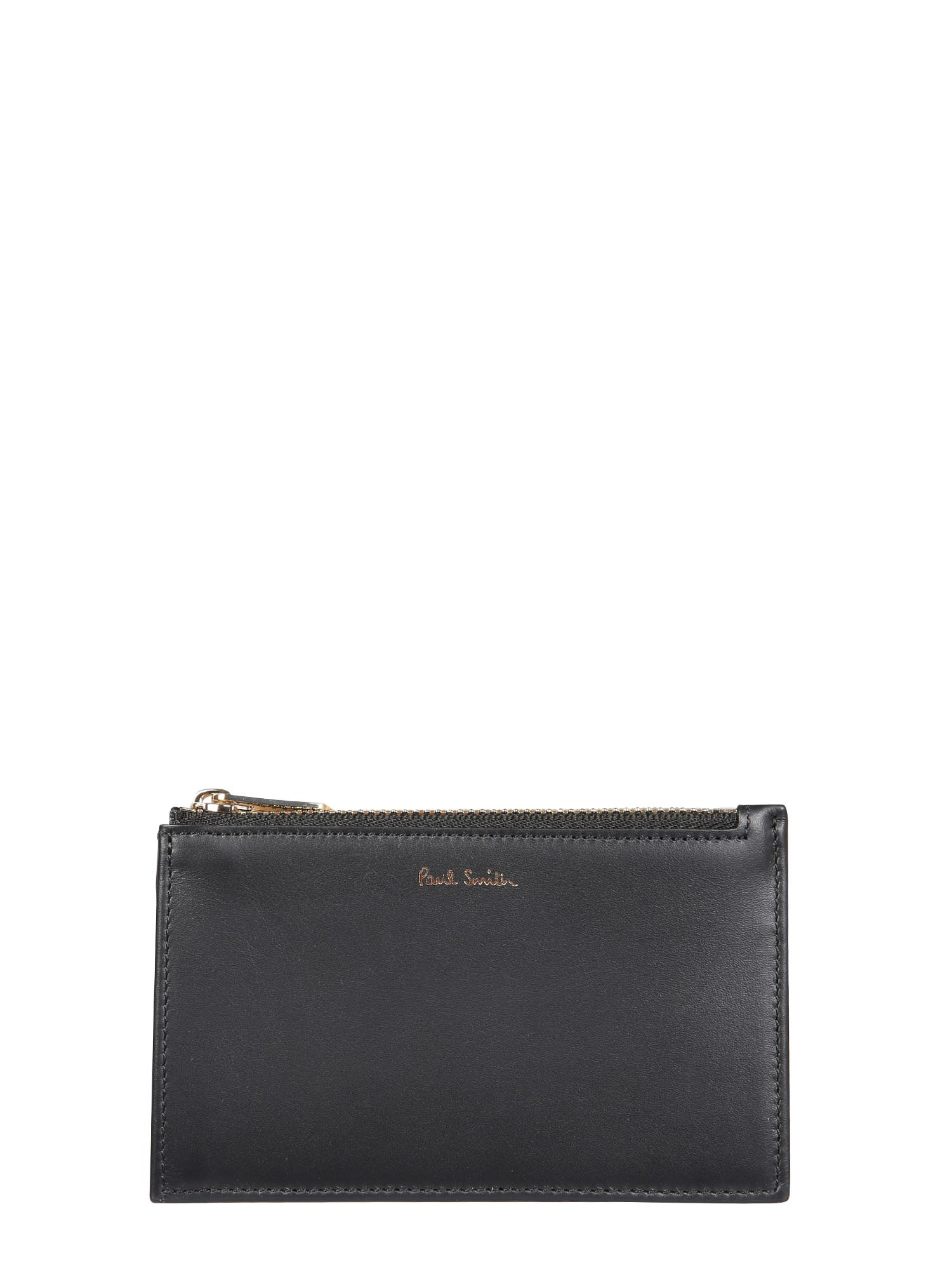 PAUL SMITH CARD HOLDER WITH ZIP