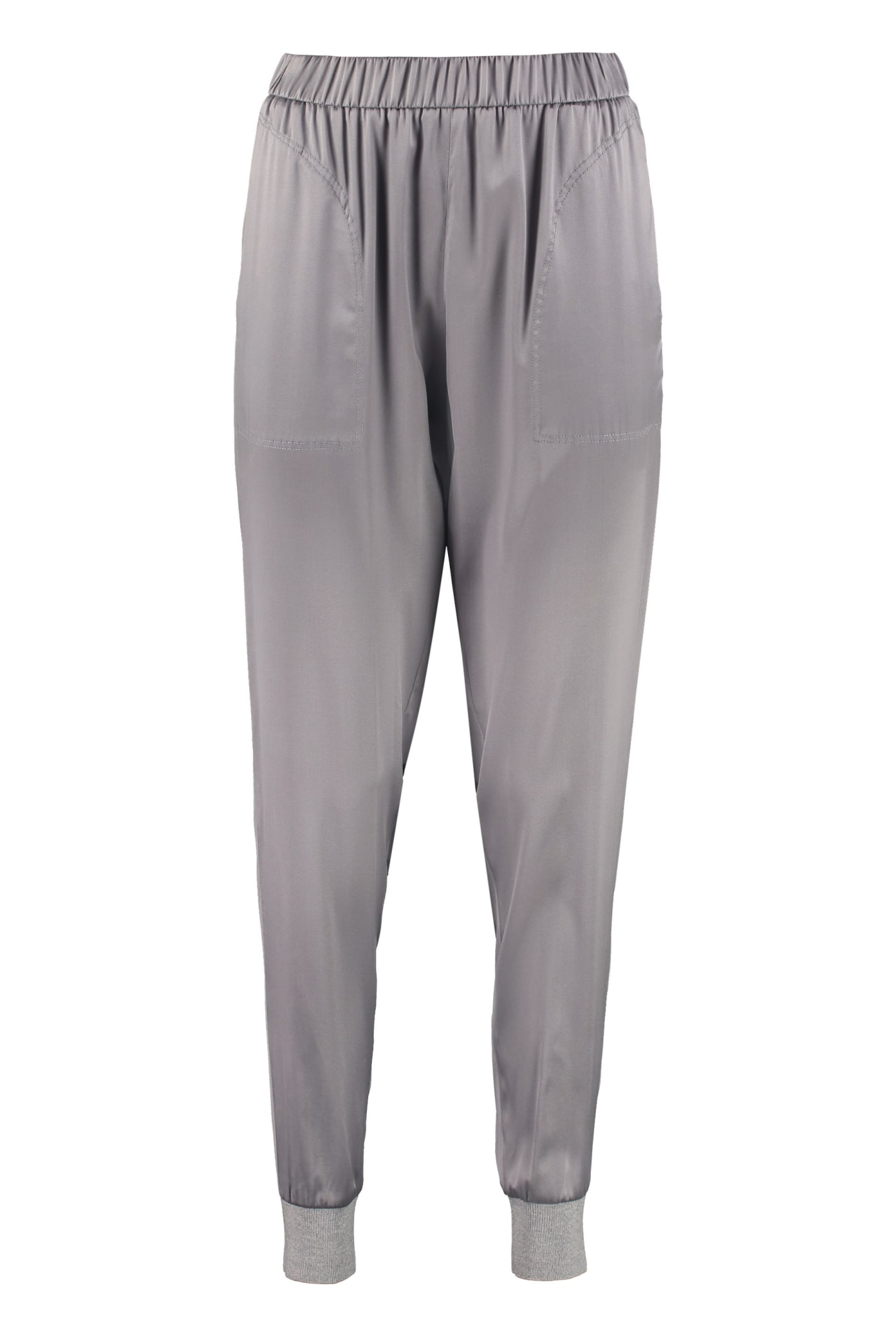 Fabiana Filippi Stretch Satin Trousers