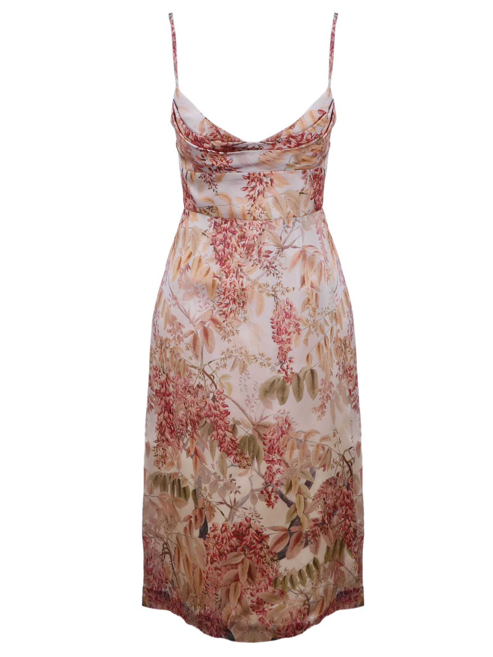 Buy Zimmermann Botanica Cocktail Dress online, shop Zimmermann with free shipping