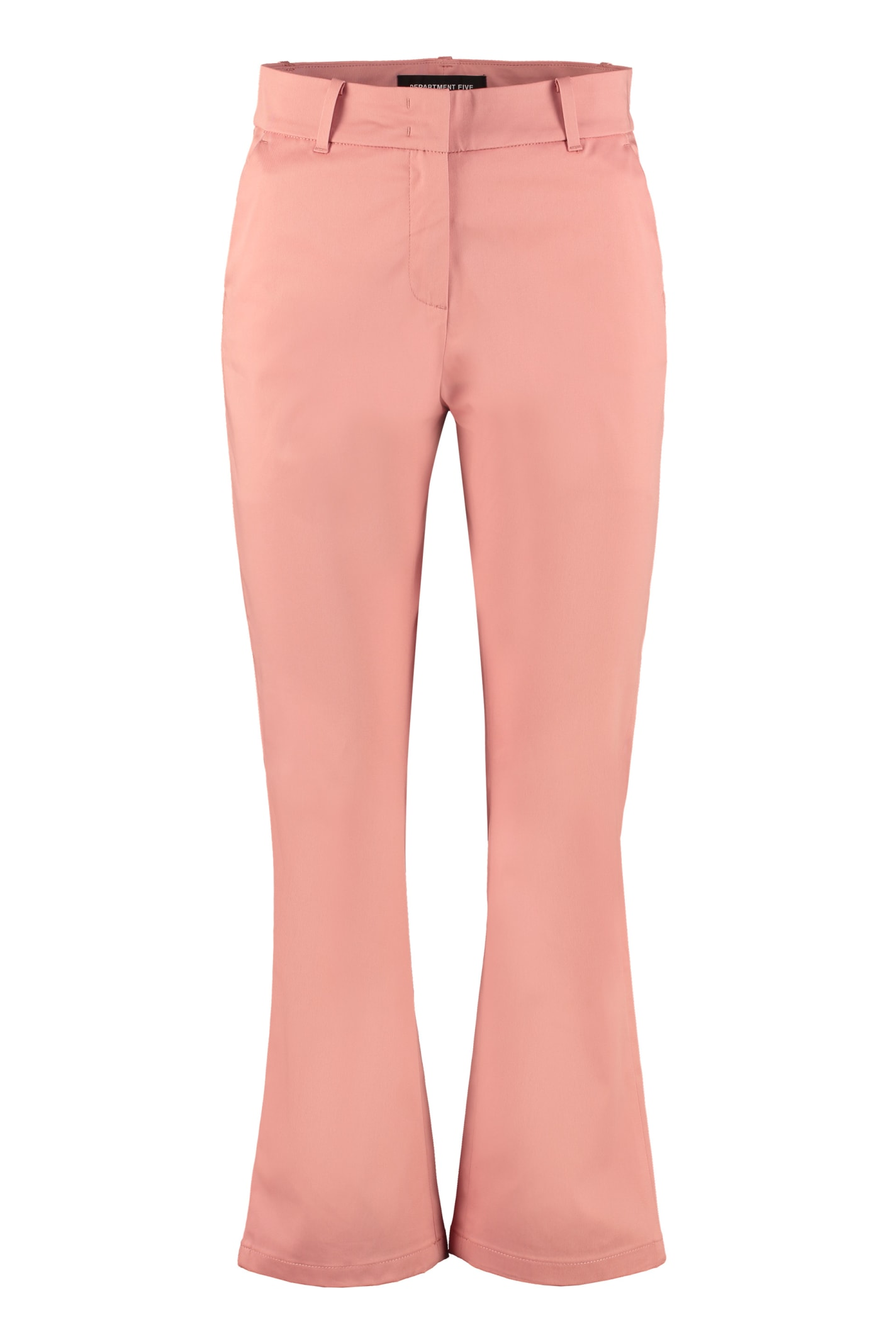 Jet Stretch Cotton Trousers