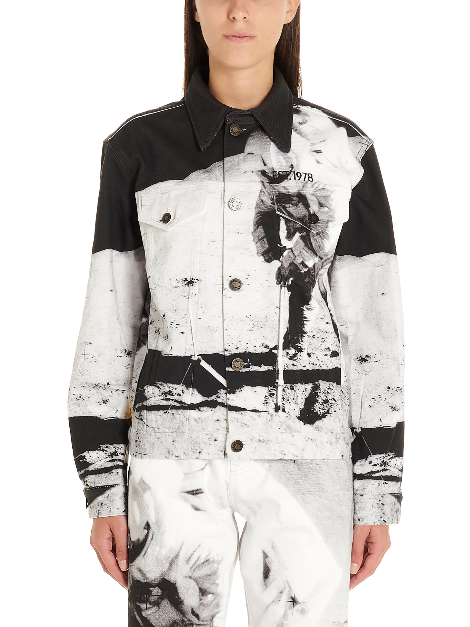 Calvin Klein moon Landings Jacket