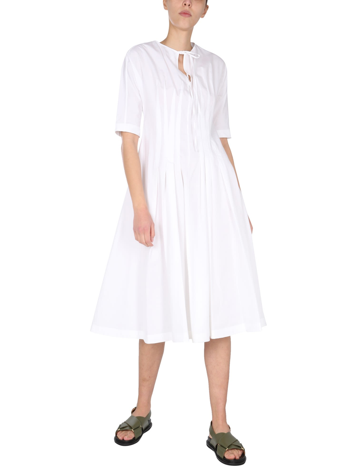 Buy Marni Dress With Polo Collar online, shop Marni with free shipping